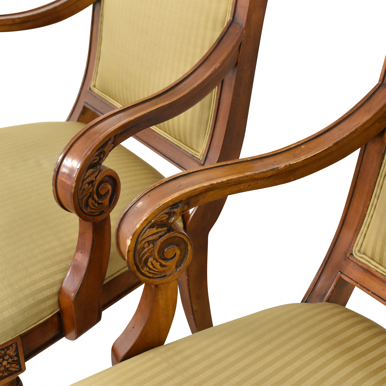 buy Ethan Allen Ethan Allen Adison Dining Arm Chairs online