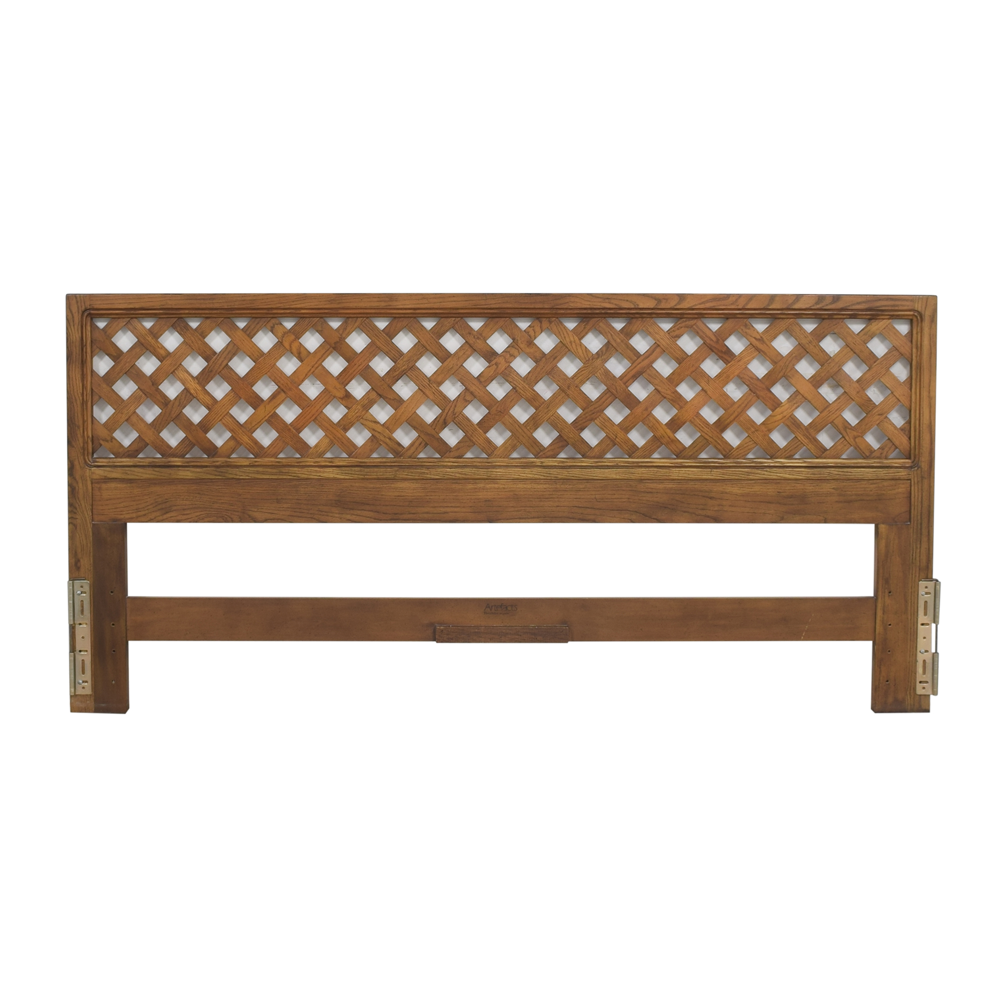 shop Henredon Artefacts Openwork King Headboard Henredon Furniture