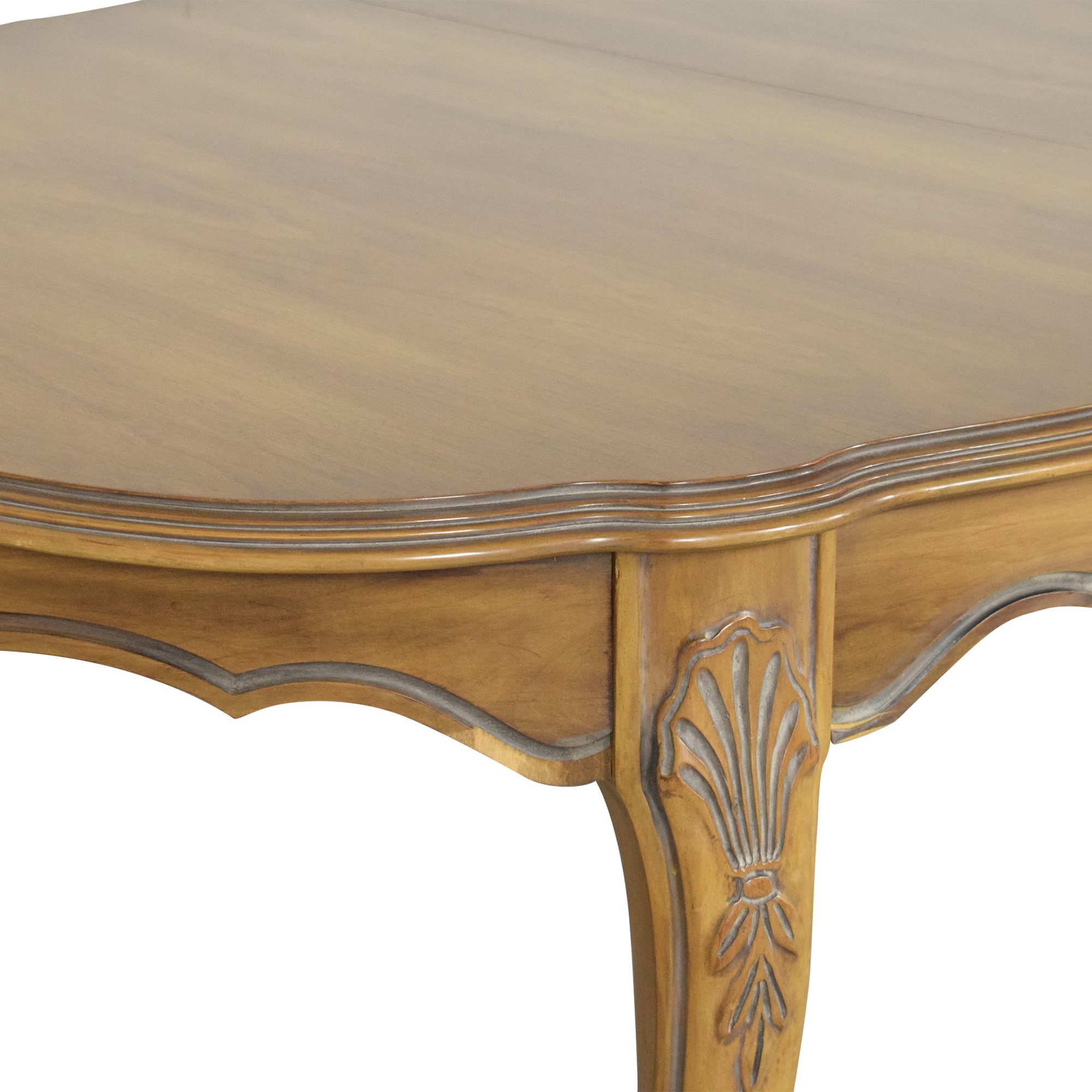 White Fine Furniture Extendable Dining Table White Fine Furniture