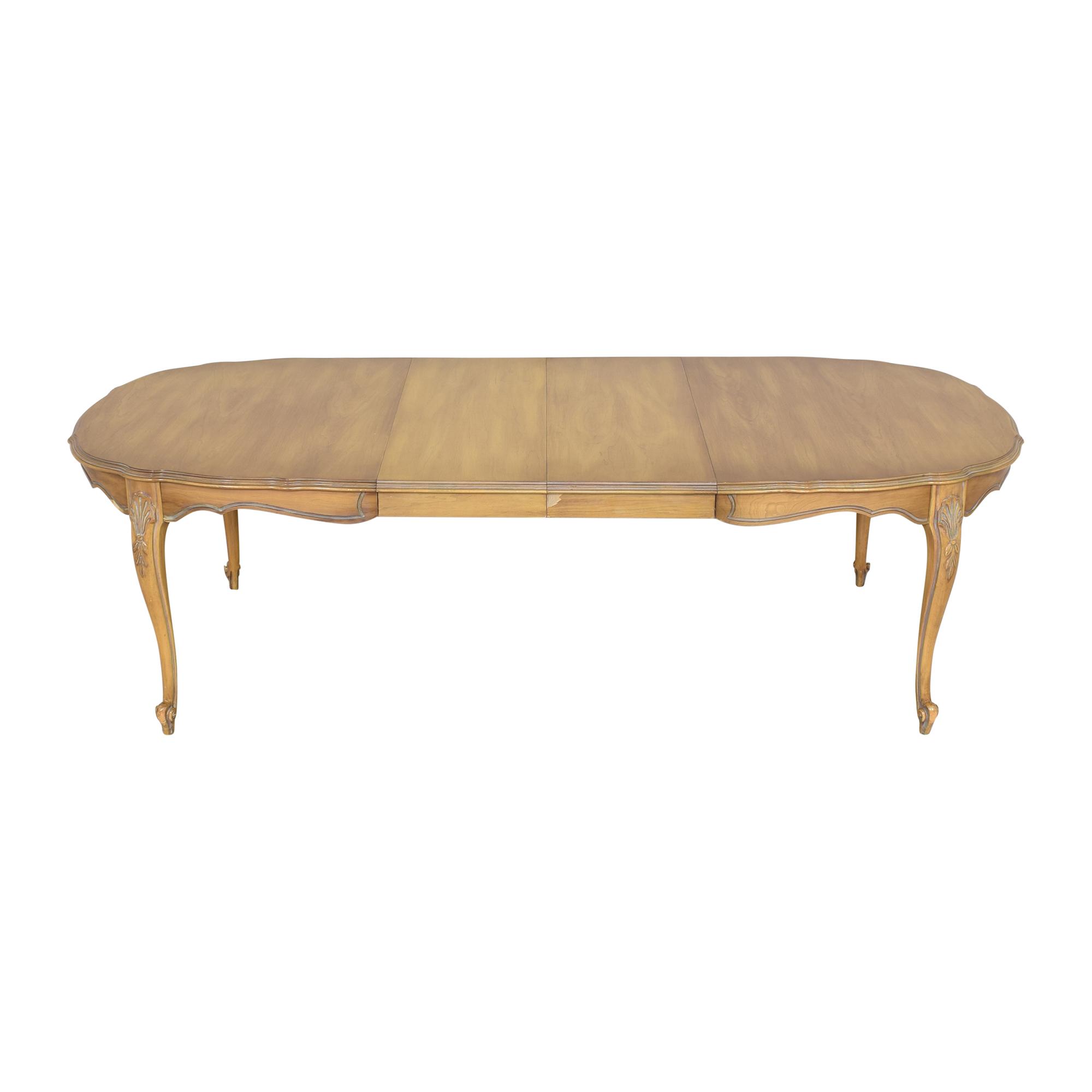 White Fine Furniture White Fine Furniture Extendable Dining Table price