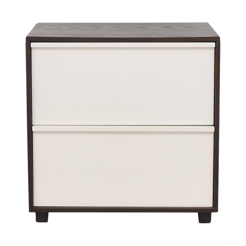 buy West Elm Two Drawer File Cabinet West Elm Filing & Bins