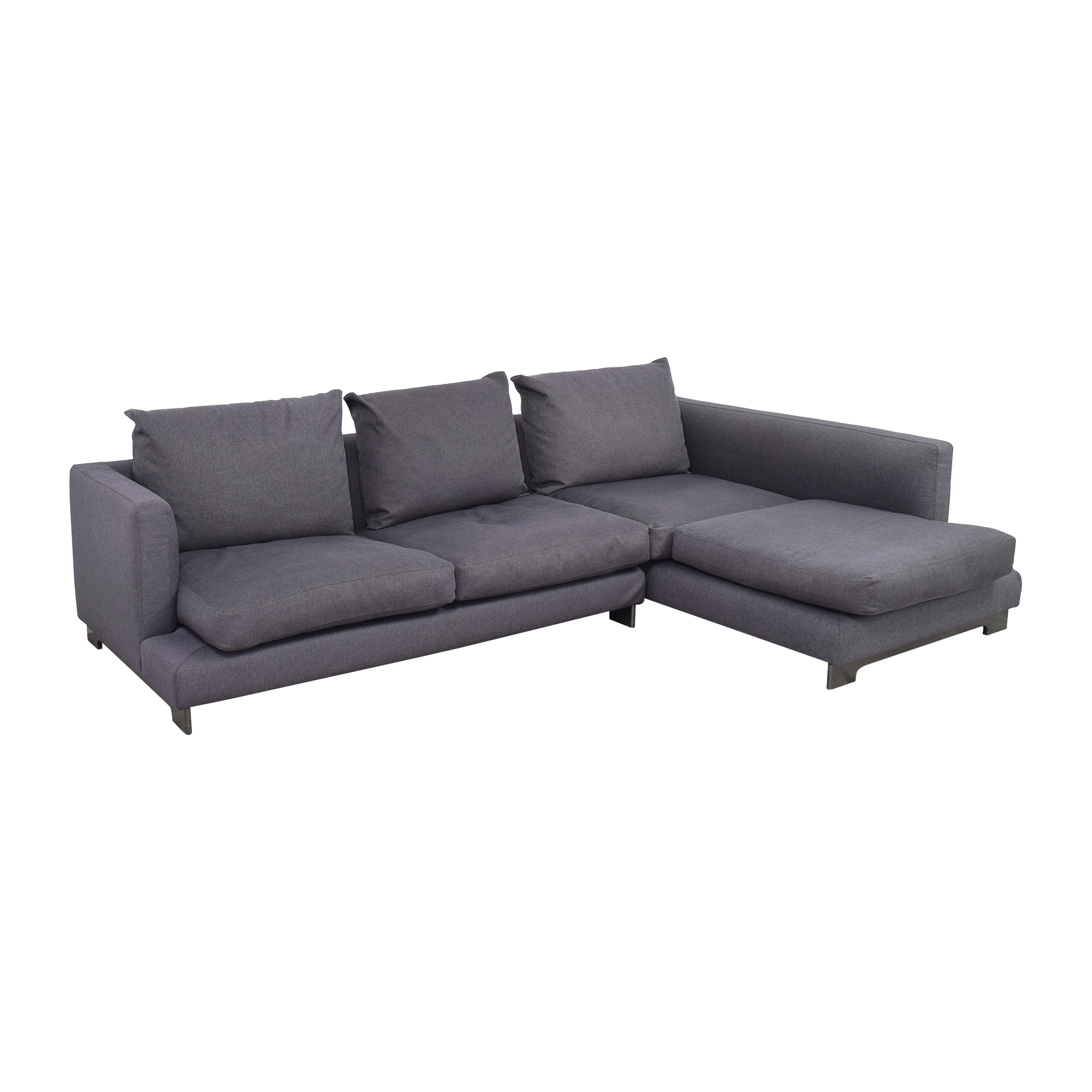 Camerich Camerich Lazy Time Chaise Sectional Sofa discount