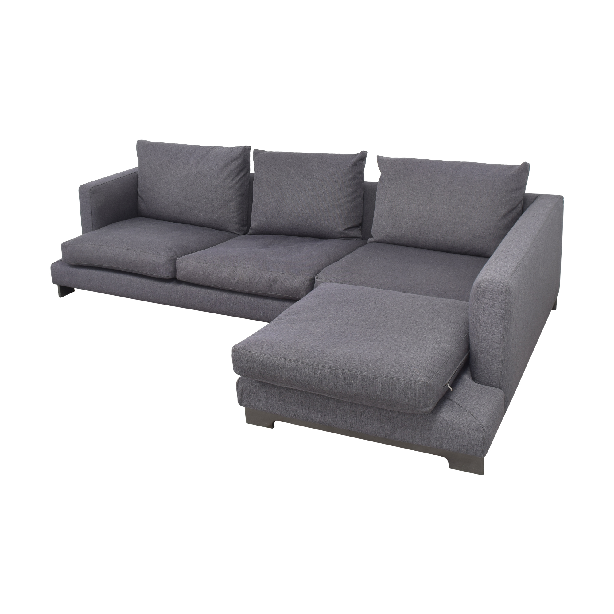 Camerich Lazy Time Chaise Sectional Sofa Camerich