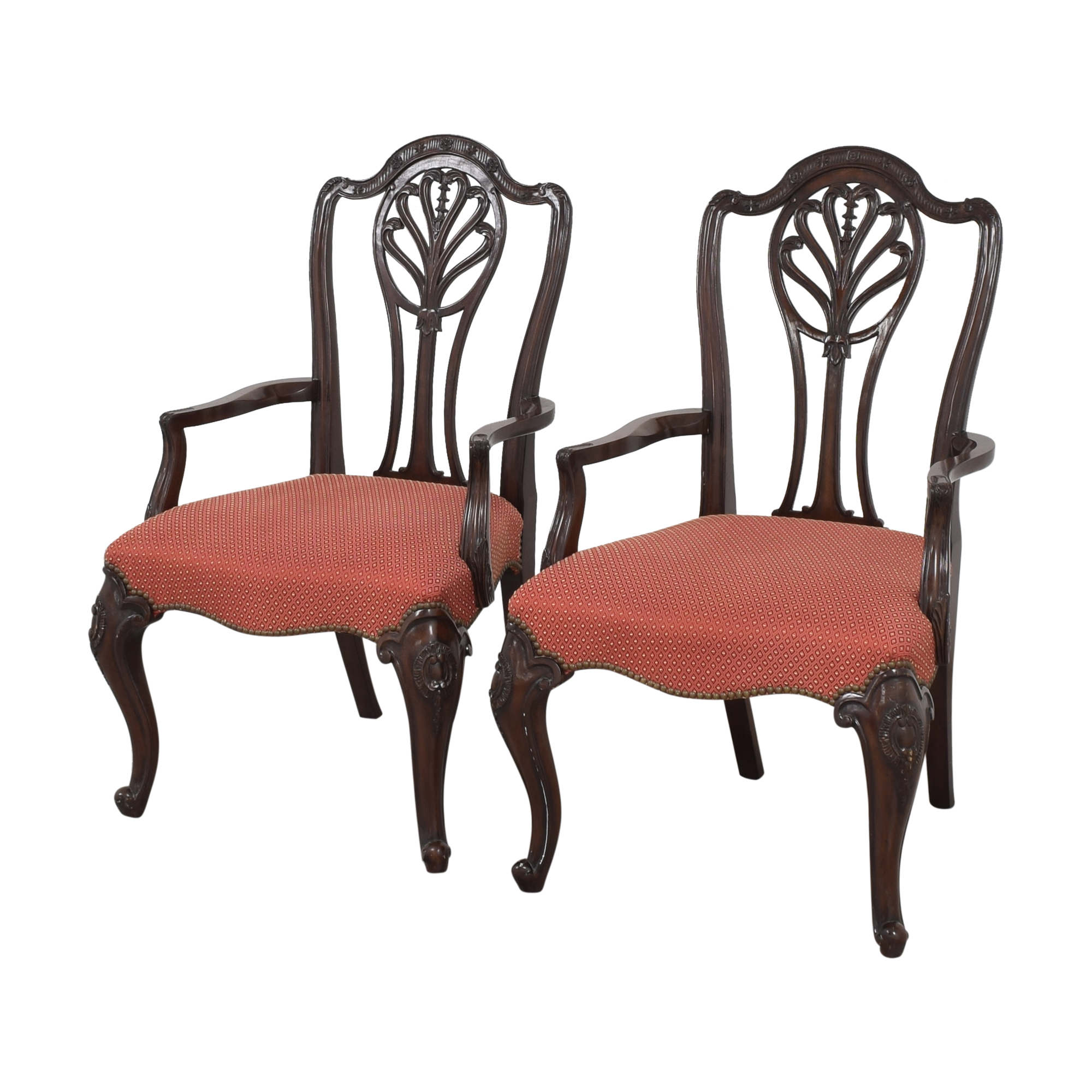 shop Drexel Heritage Upholstered Dining Arm Chairs Drexel Heritage Chairs
