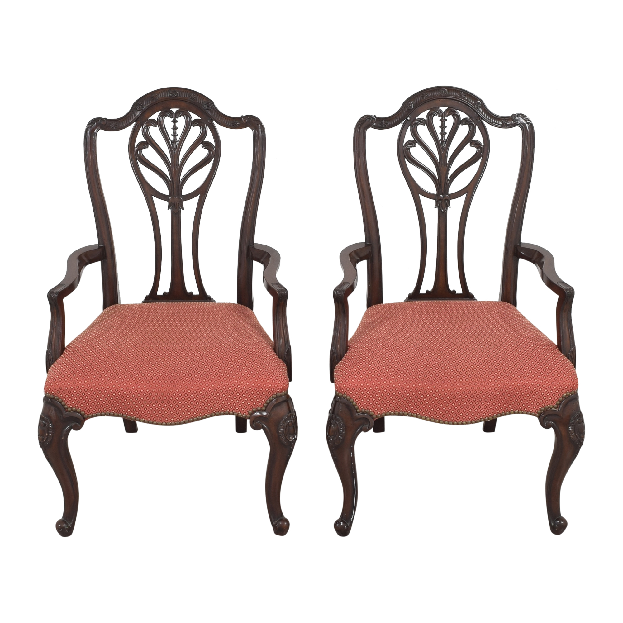 Drexel Heritage Drexel Heritage Upholstered Dining Arm Chairs price