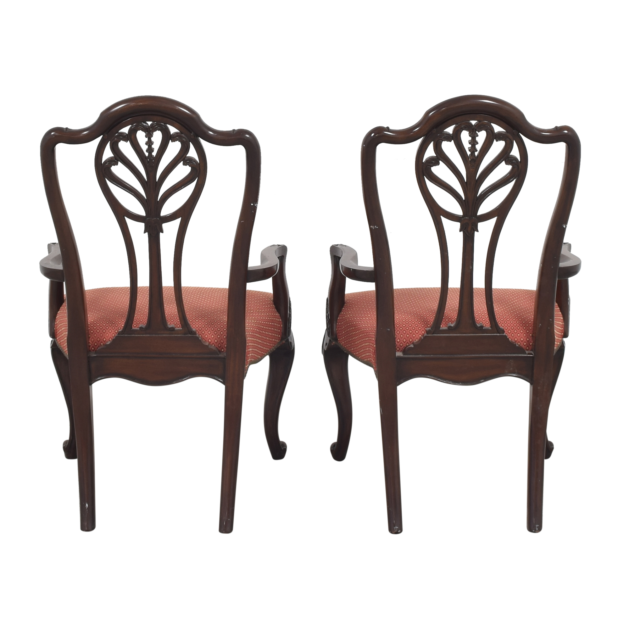 Drexel Heritage Drexel Heritage Upholstered Dining Arm Chairs Dining Chairs
