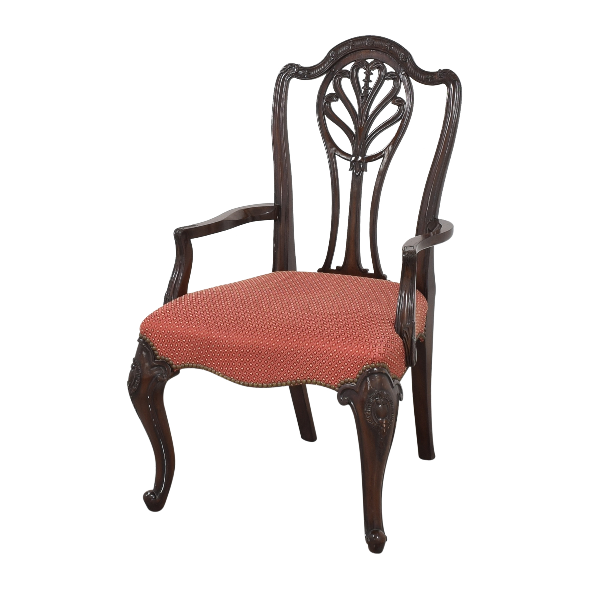 Drexel Heritage Drexel Heritage Upholstered Dining Arm Chairs used