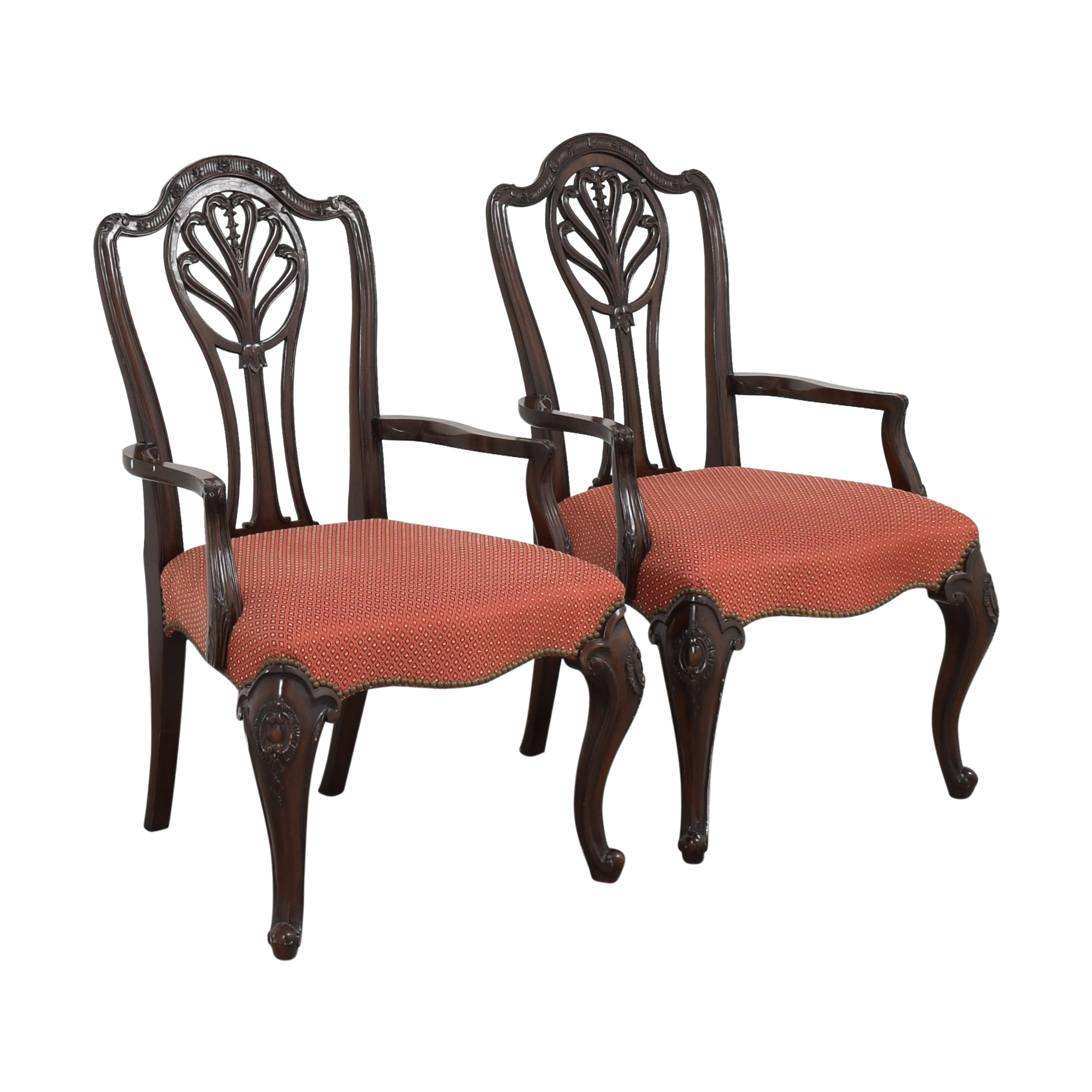 shop Drexel Heritage Drexel Heritage Upholstered Dining Arm Chairs online