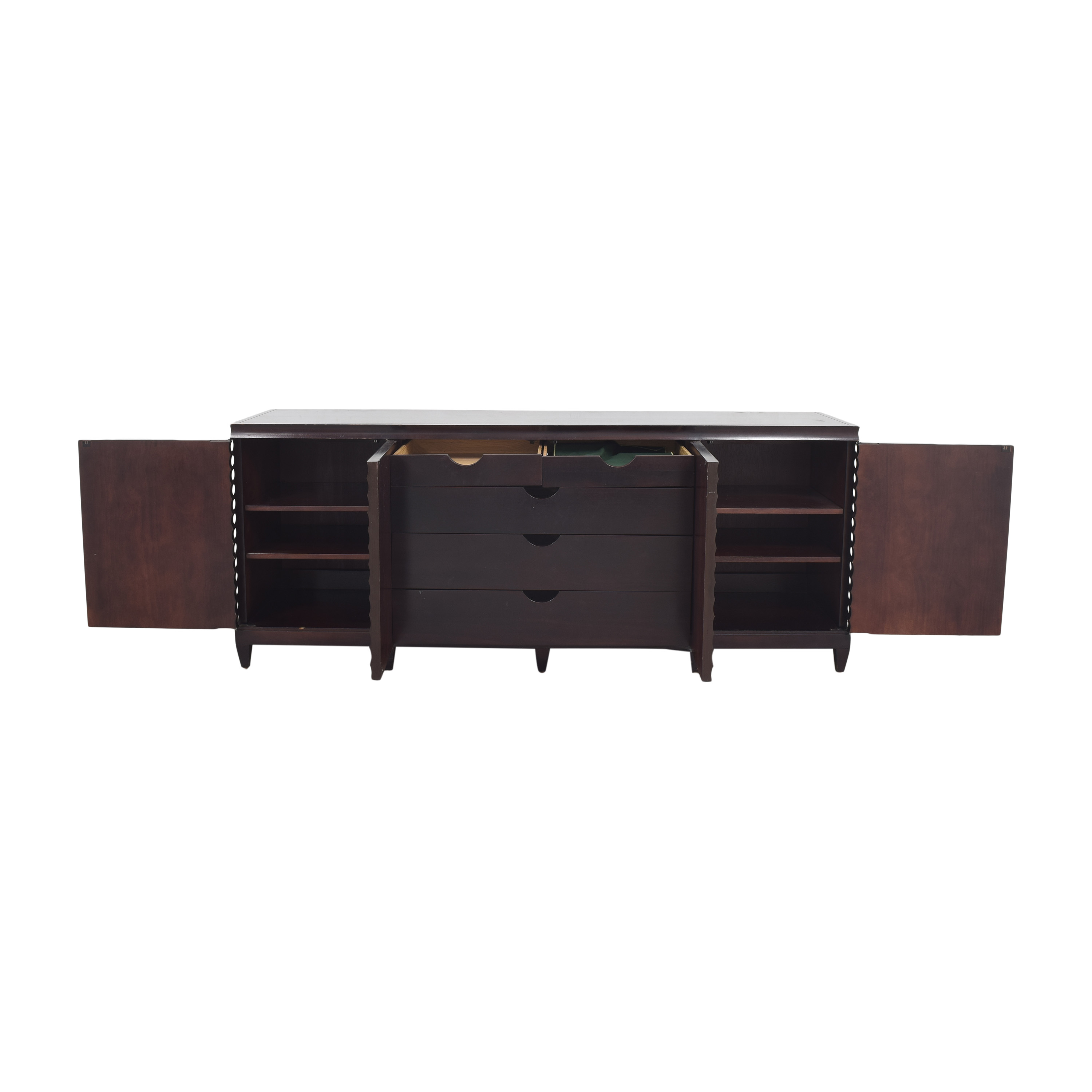 Baker Furniture Baker Furniture by Barbara Barry Fluted Low Cabinet ma