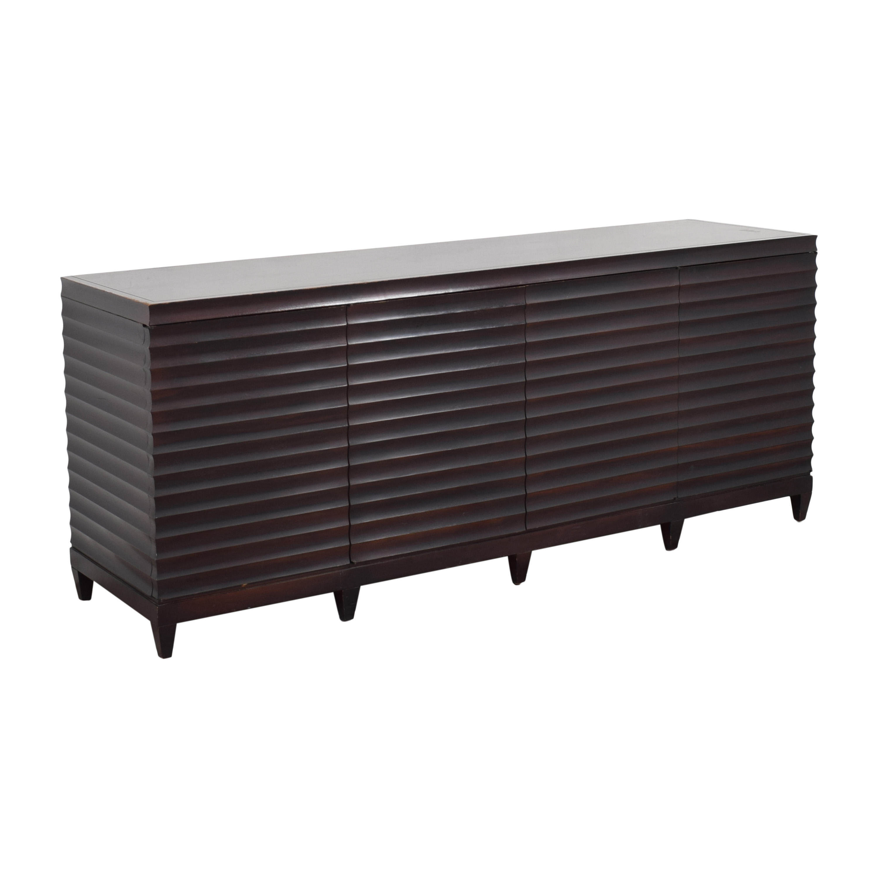 Baker Furniture Baker Furniture by Barbara Barry Fluted Low Cabinet used