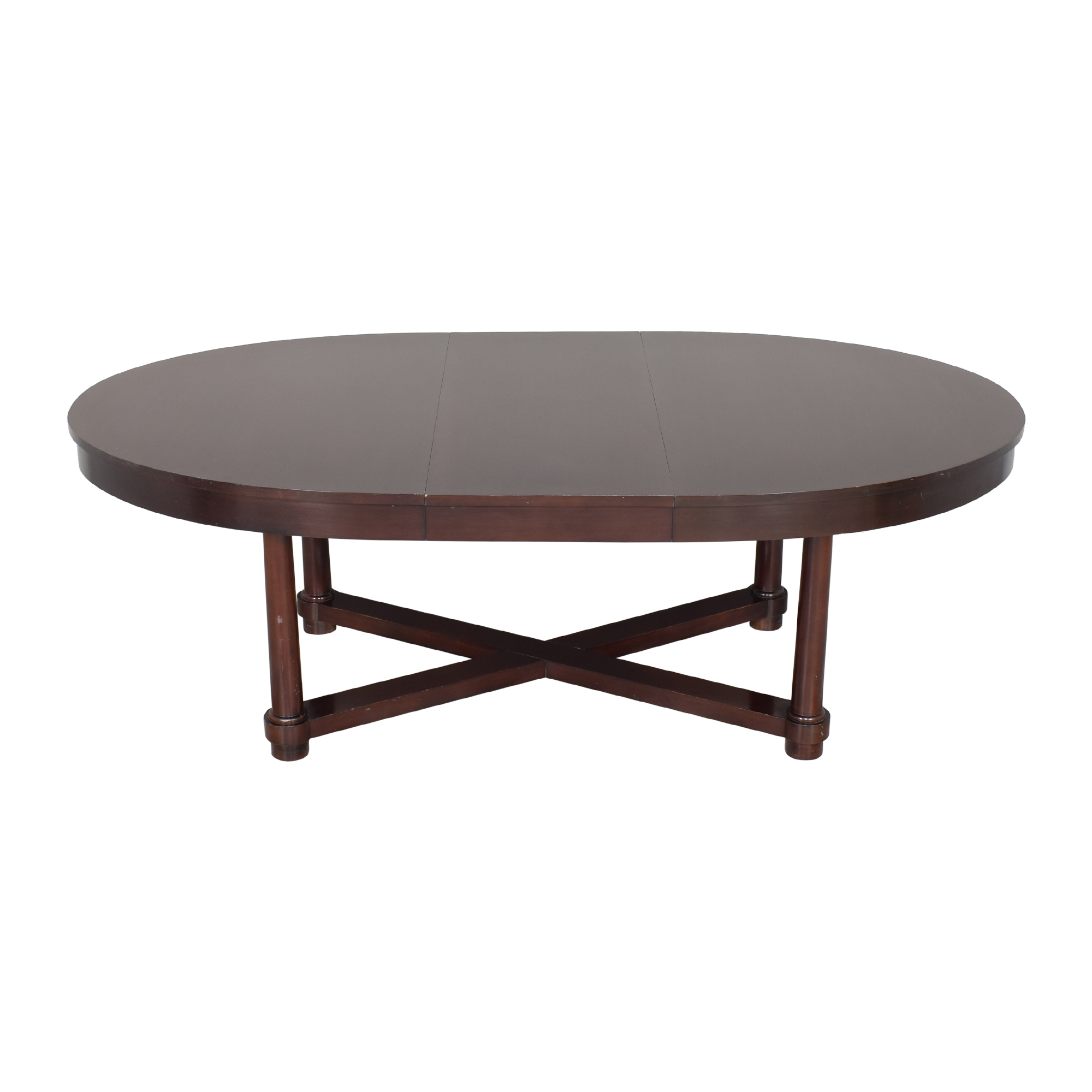 Baker Furniture Baker Furniture Barbara Barry Extendable Dining Table second hand