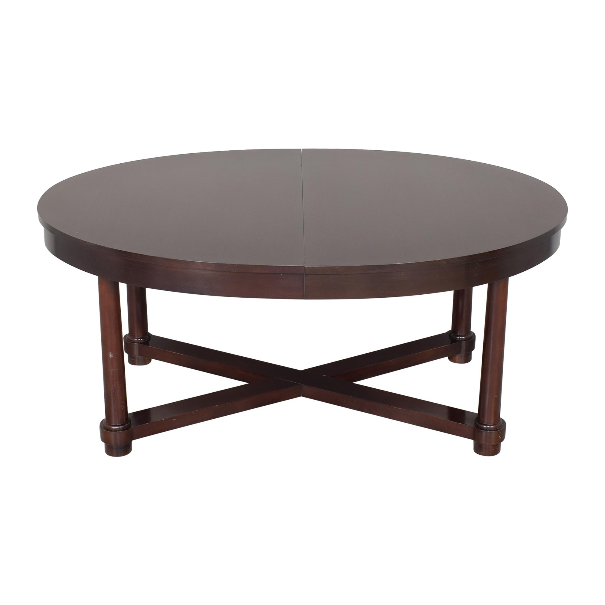 buy Baker Furniture Barbara Barry Extendable Dining Table Baker Furniture Dinner Tables
