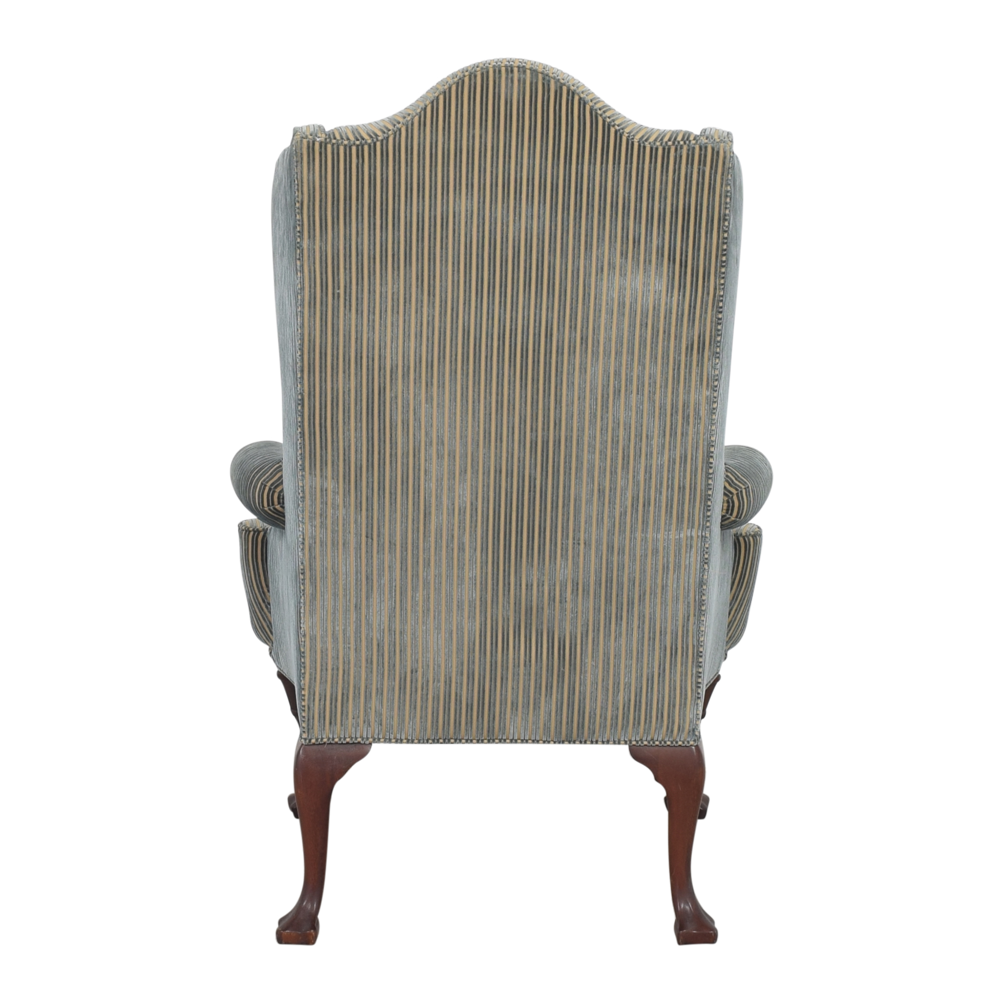 Hickory Chair Hickory Chair Stripe Wing Back Chair nyc