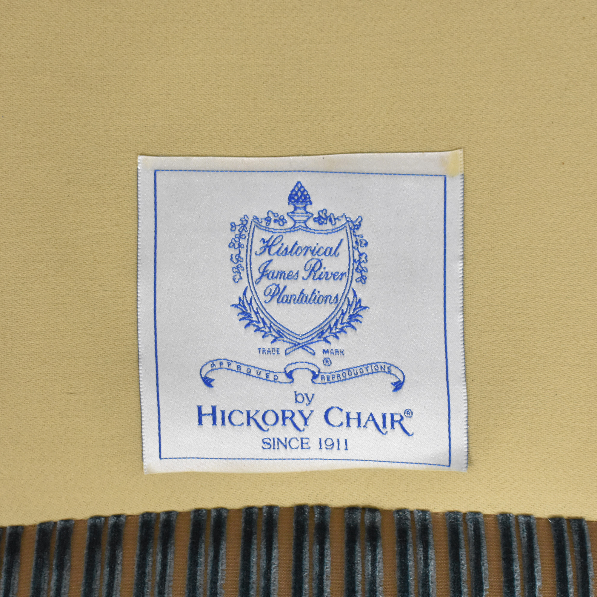 Hickory Chair Hickory Chair Stripe Wing Back Chair ma