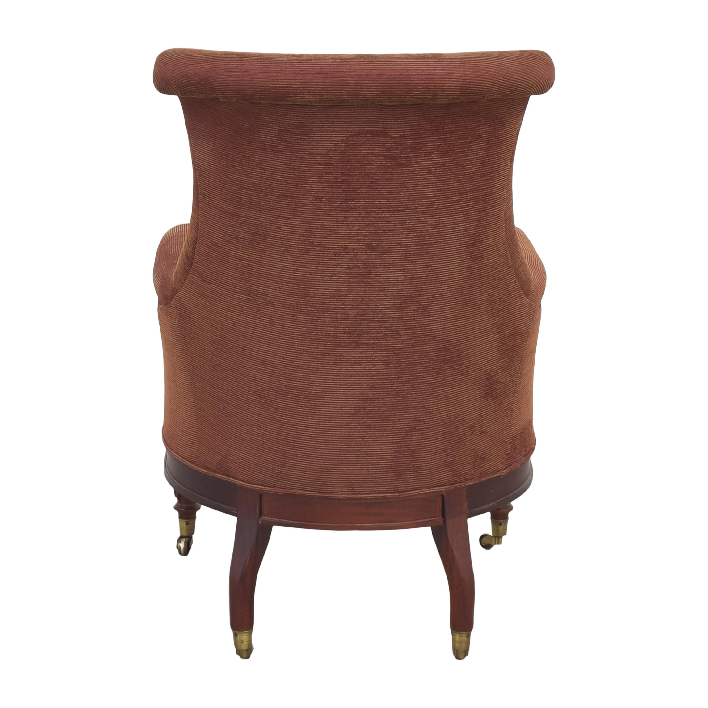 shop Hickory Chair Mark Hampton Collection Regency Library Chair Hickory Chair Accent Chairs