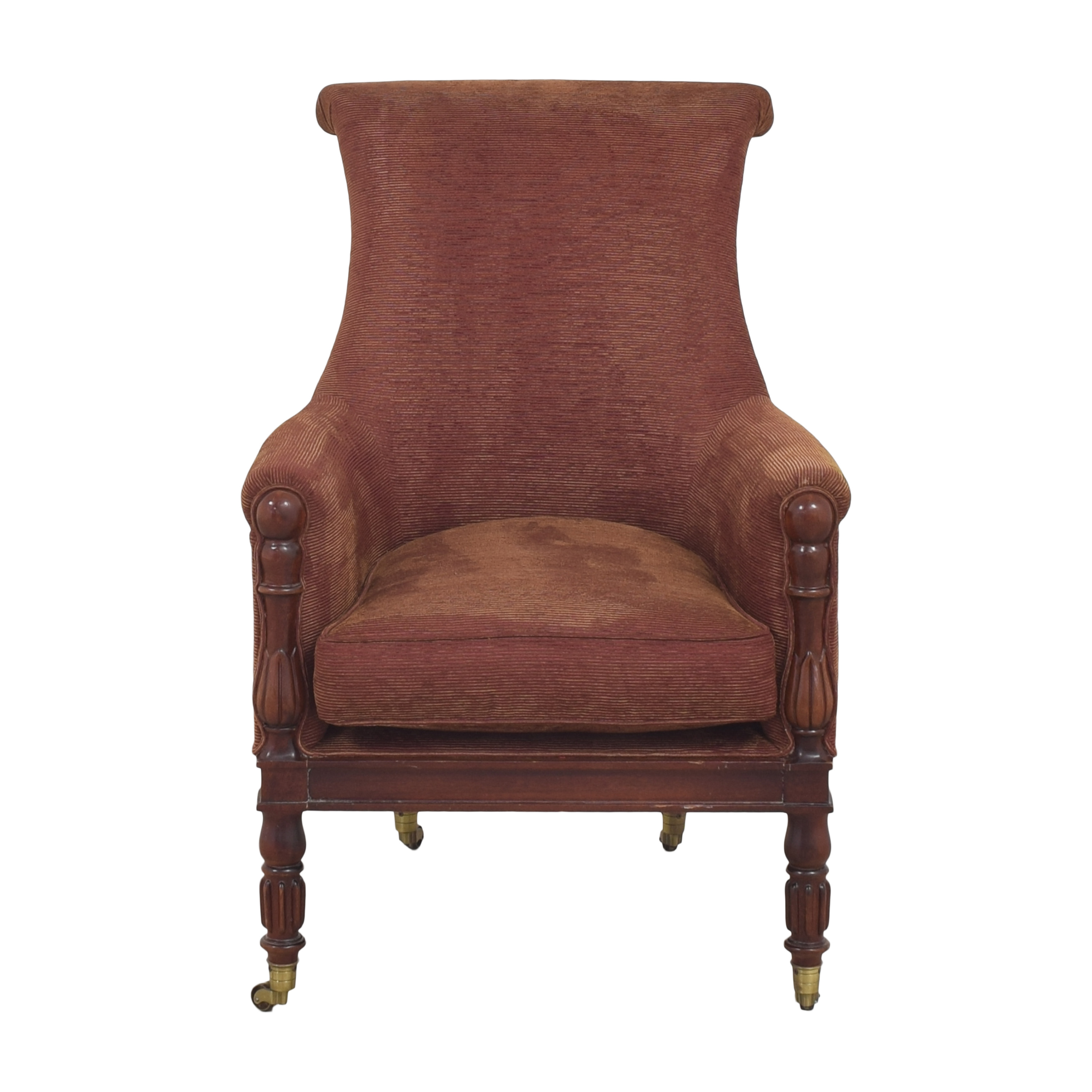 Hickory Chair Hickory Chair Mark Hampton Collection Regency Library Chair on sale