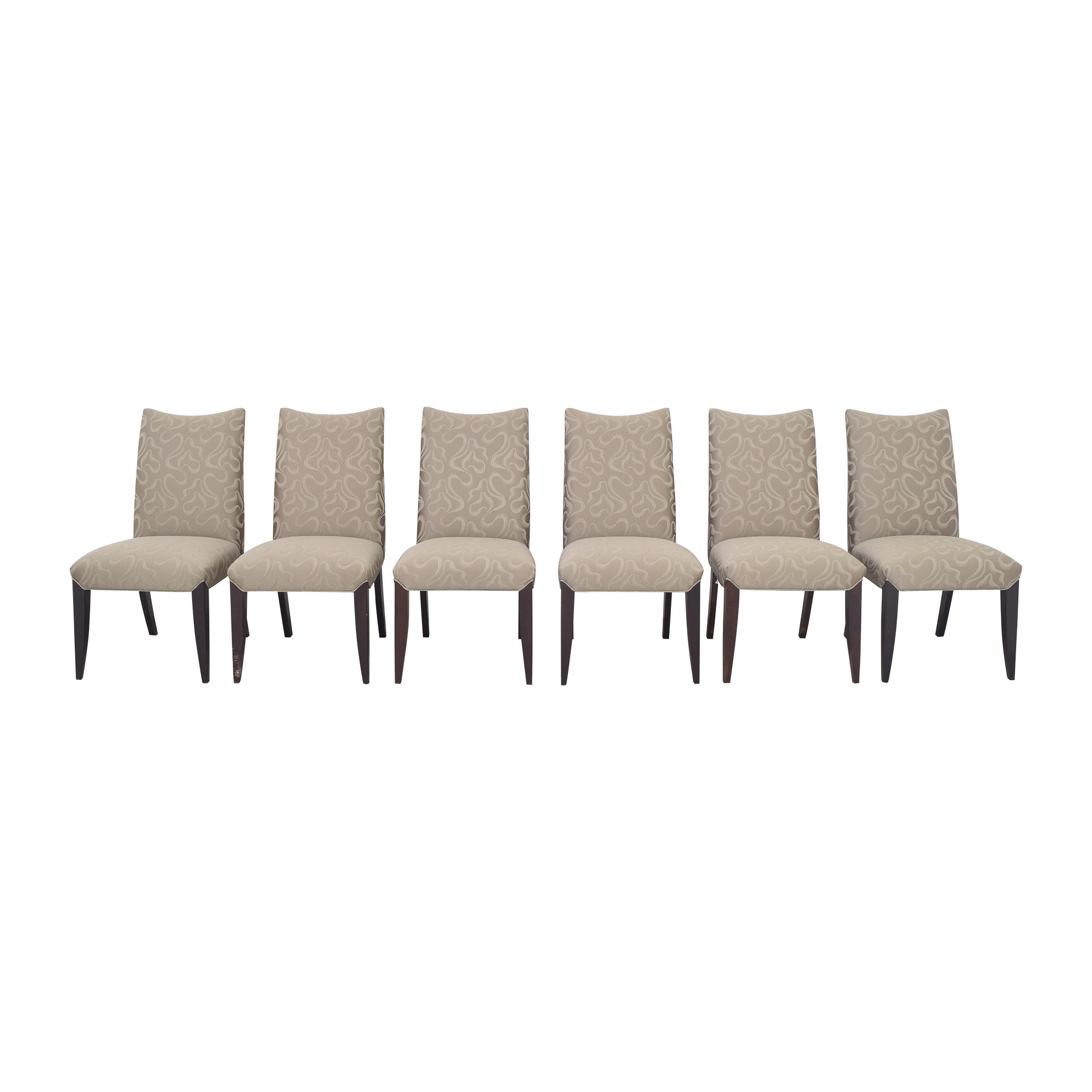 Precedent Furniture Precedent Furniture Upholstered Dining Chairs dimensions
