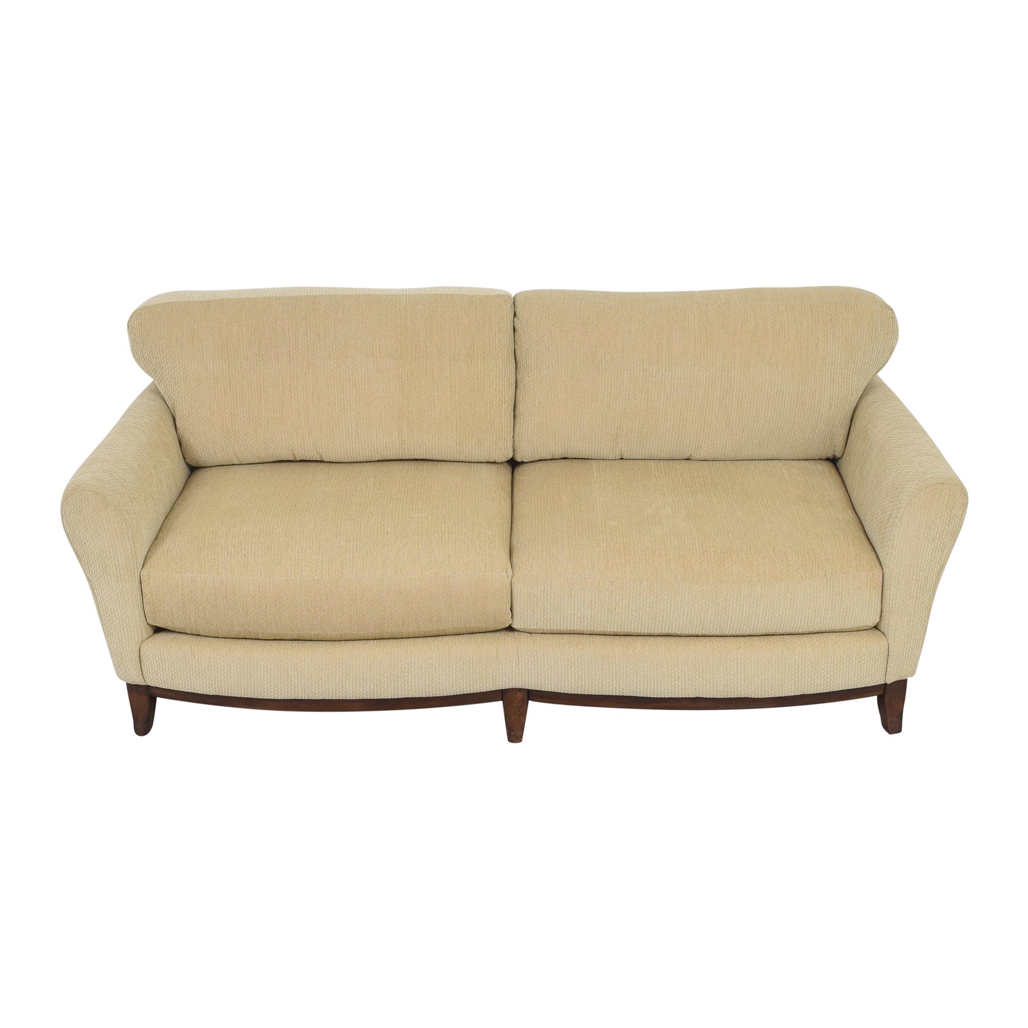 Two Cushion Sofa / Sofas