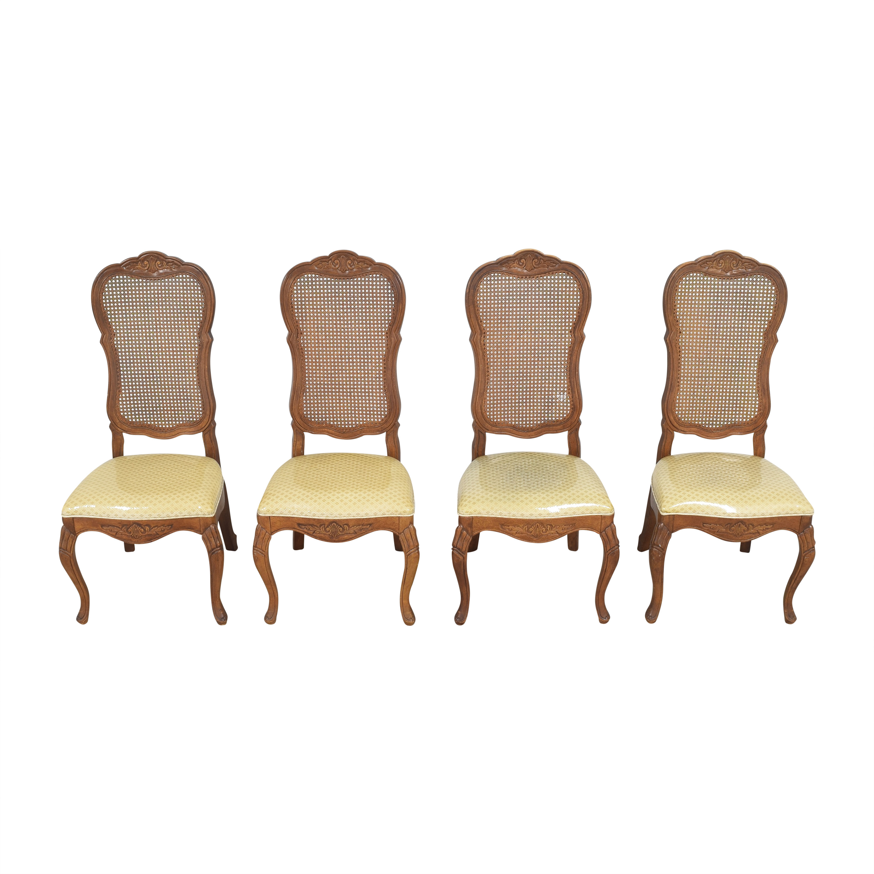 Bernhardt Cane Back Dining Chairs / Chairs