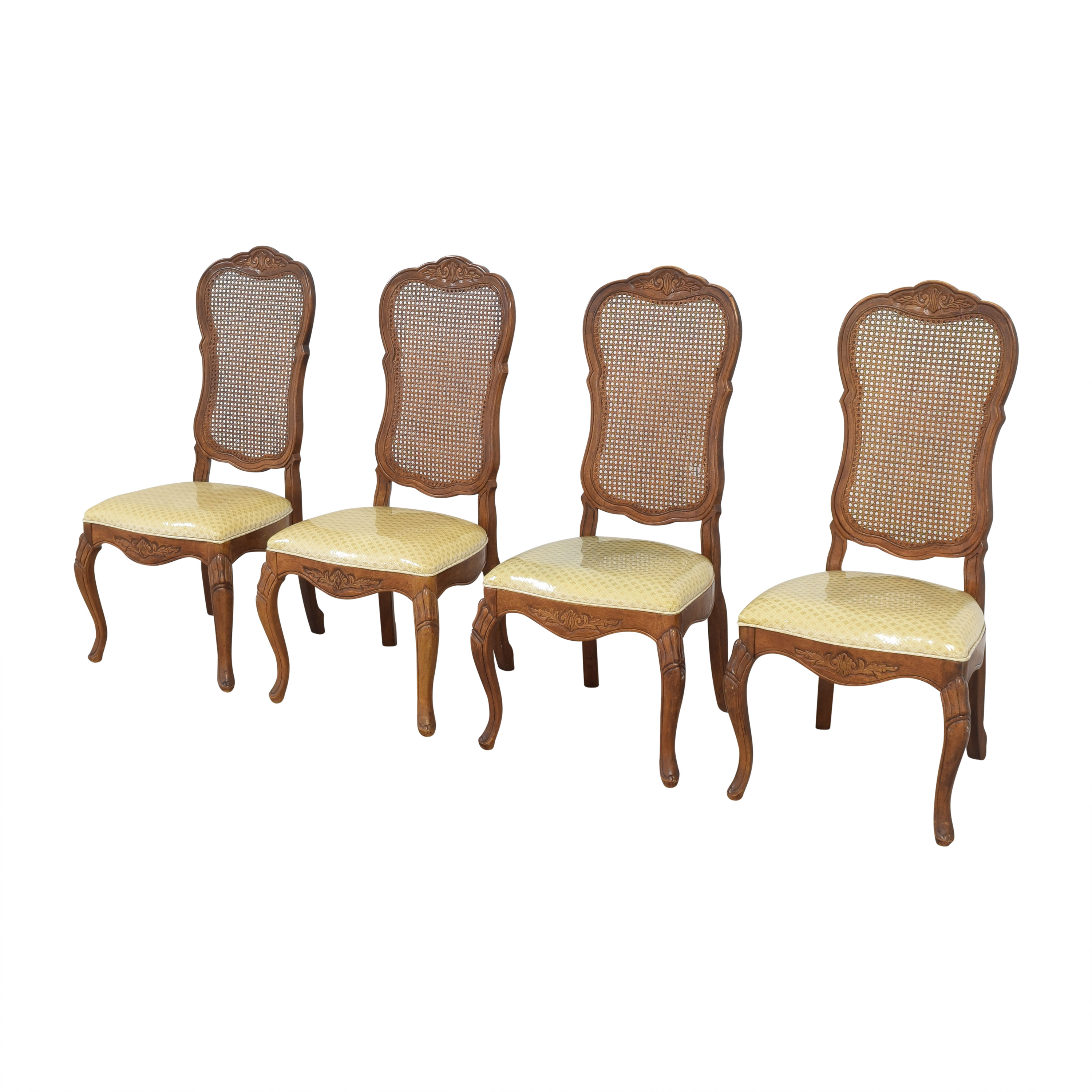 Bernhardt Bernhardt Cane Back Dining Chairs Dining Chairs