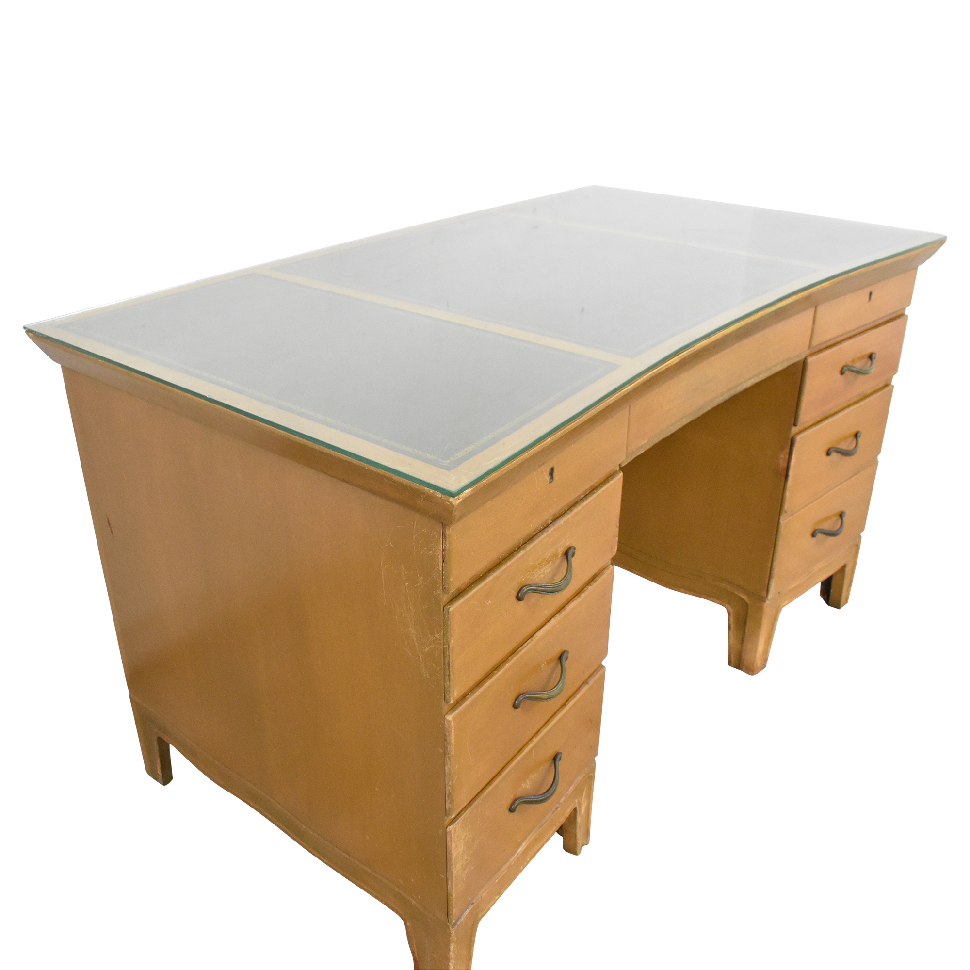 Tomlinson Tomlinson Vintage Double Pedestal Desk price