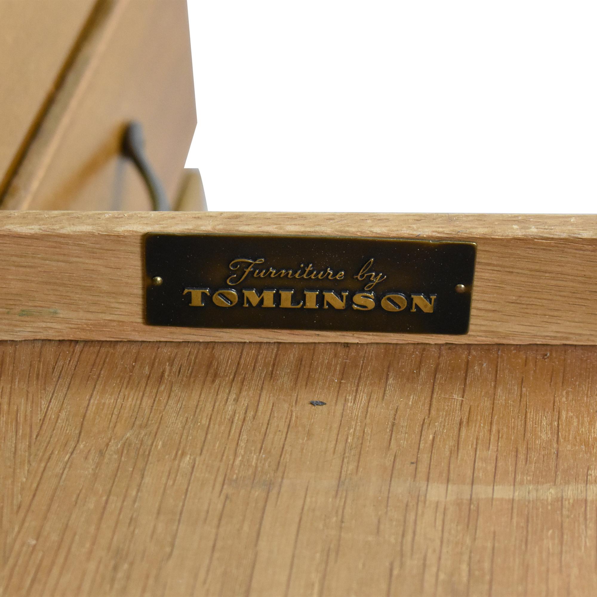 Tomlinson Tomlinson Vintage Double Pedestal Desk on sale