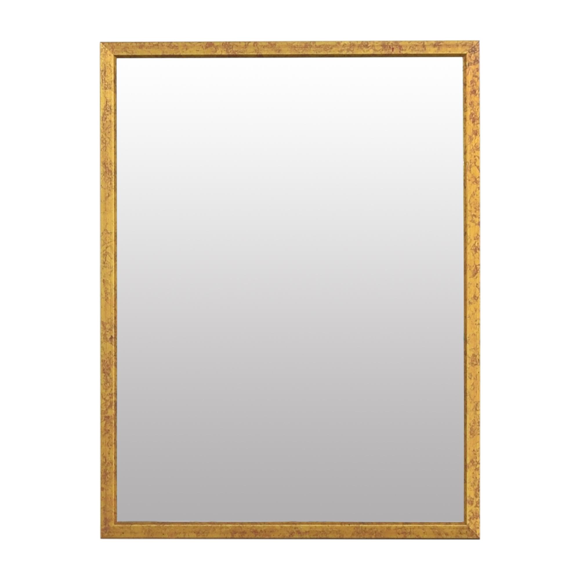 buy Framed Beveled Wall Mirror  Decor