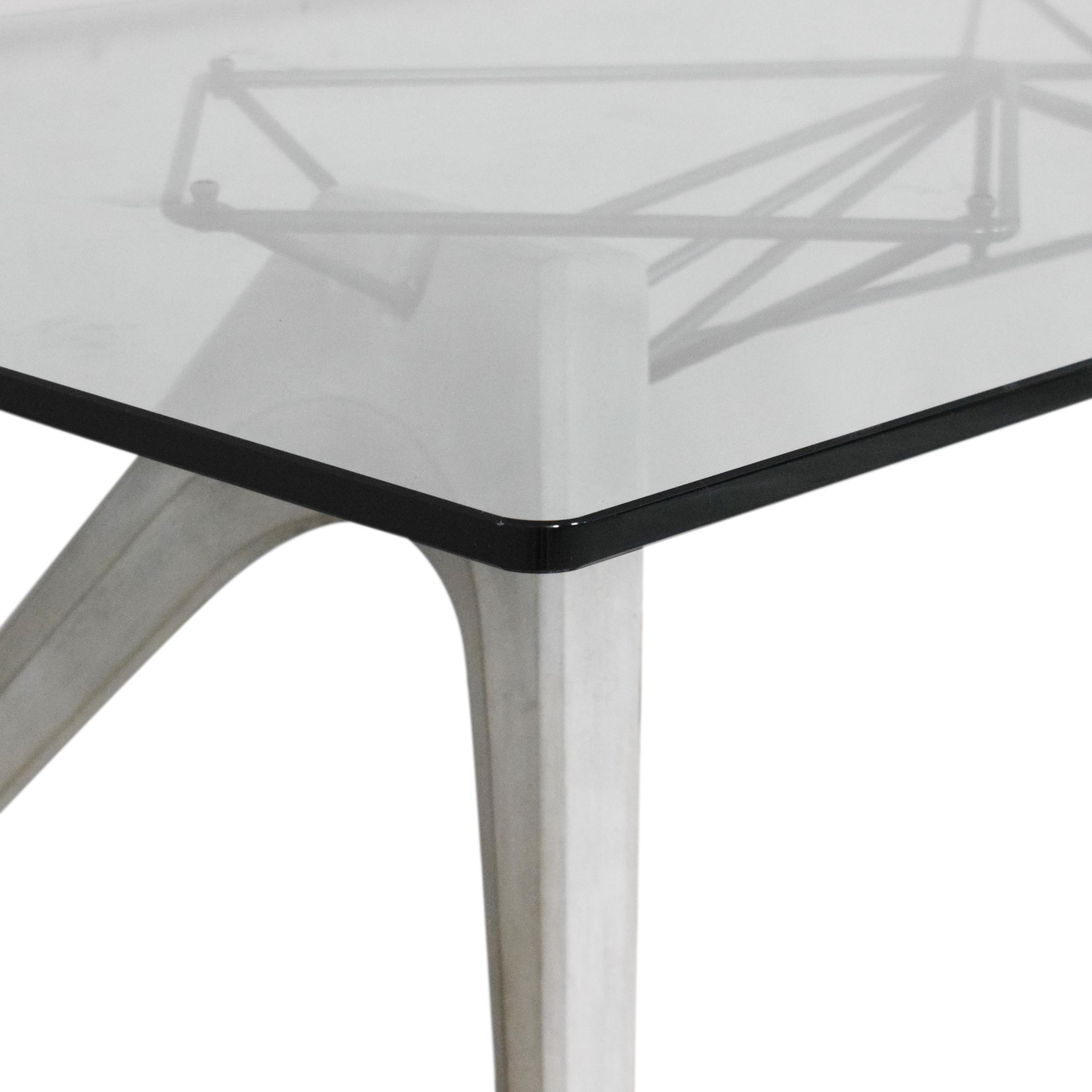 buy District Eight Kahn Dining Table District Eight Dinner Tables