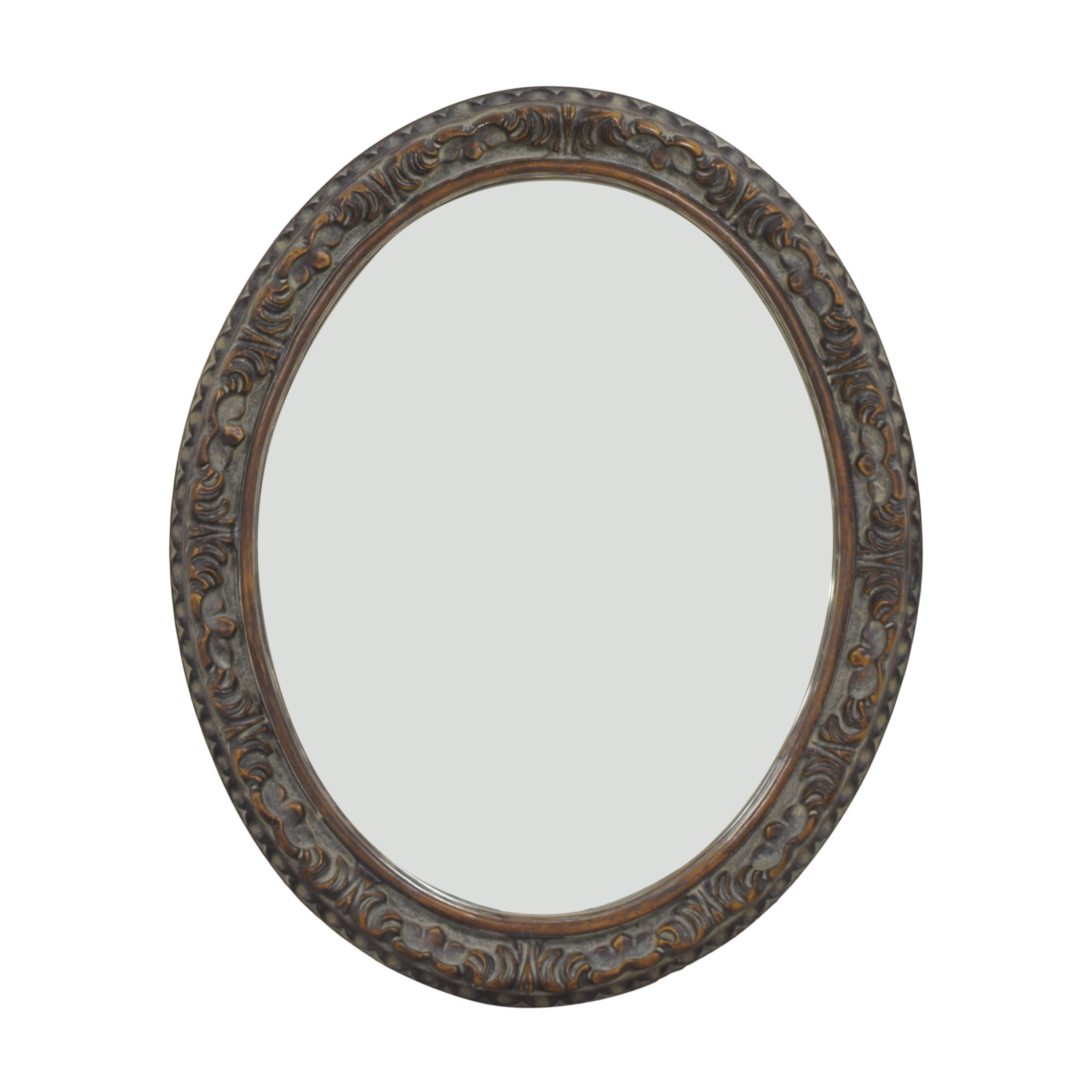 Framed Oval Mirror nyc