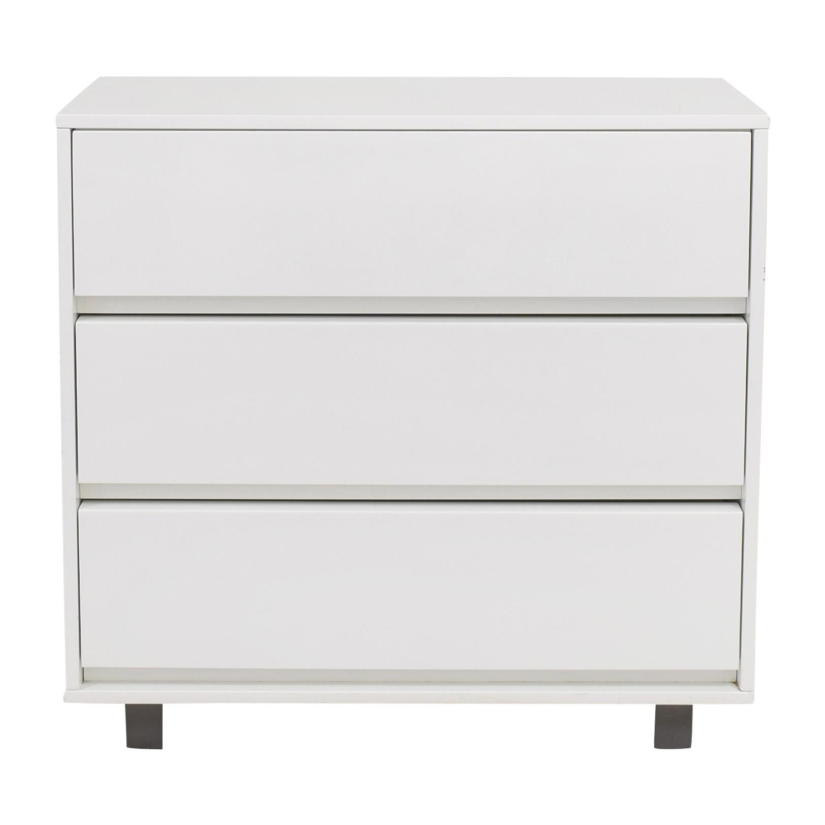 buy CB2 Gallery Three Drawer Chest CB2 Storage
