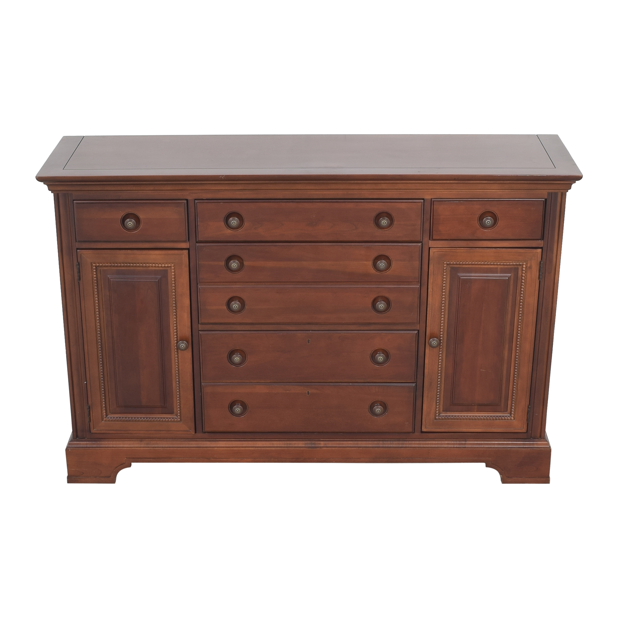 Stanley Furniture Stanley Furniture Six Drawer Buffet  second hand