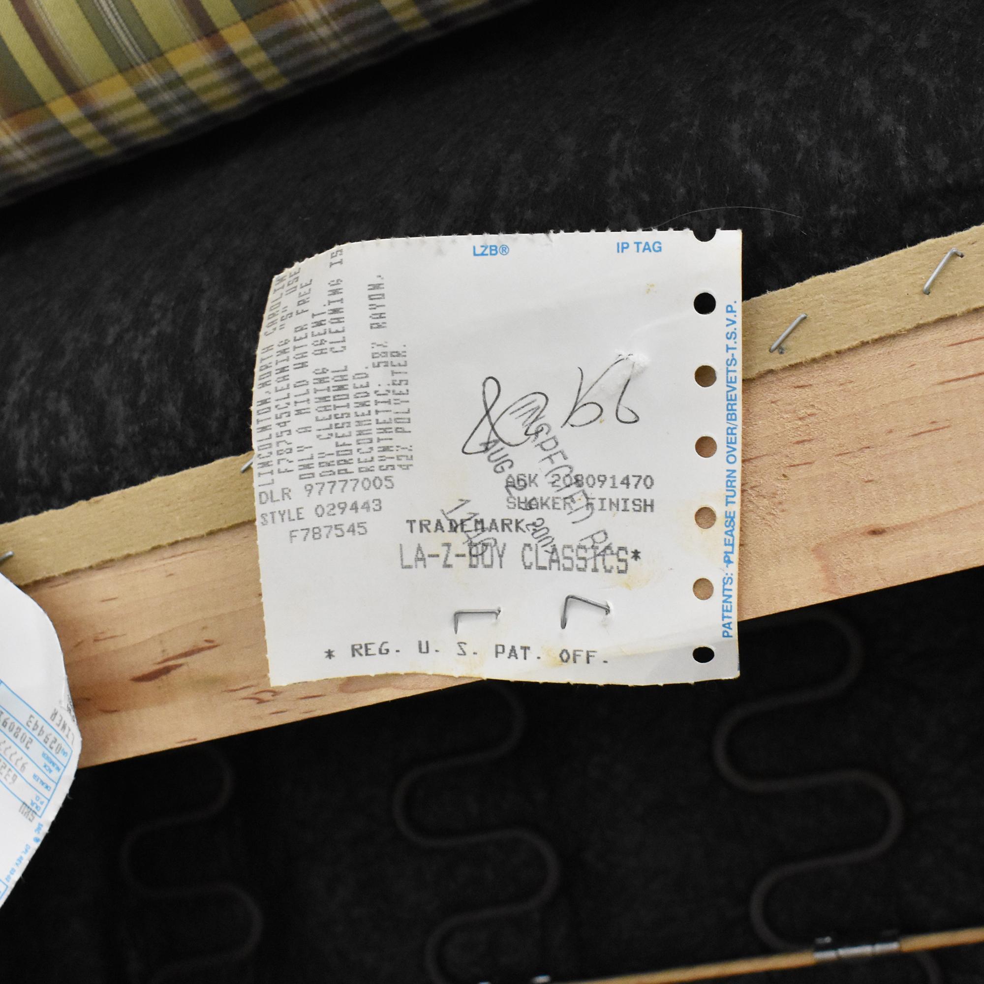 La-Z-Boy La-Z-Boy Plaid Recliner on sale