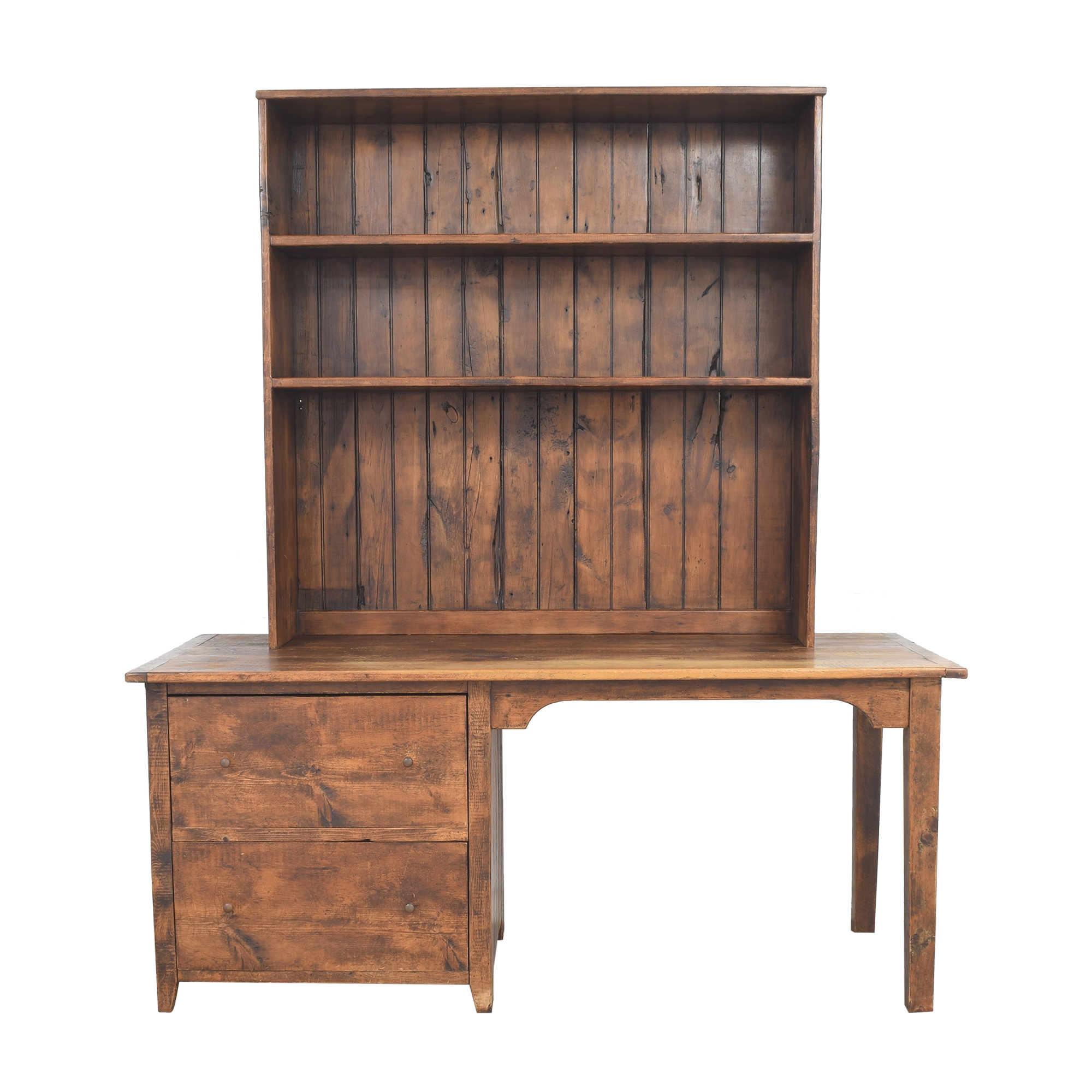 buy Barntiques Desk with Removable Shelving Barntiques
