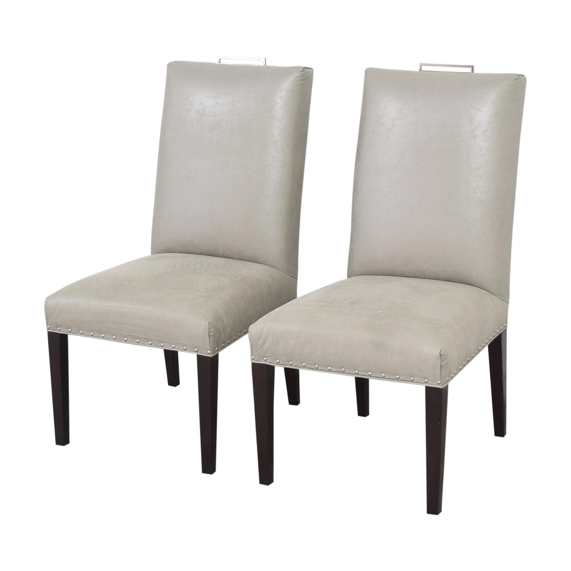 Vanguard Furniture Vanguard Michael Weiss Everhart Side Dining Chairs ma