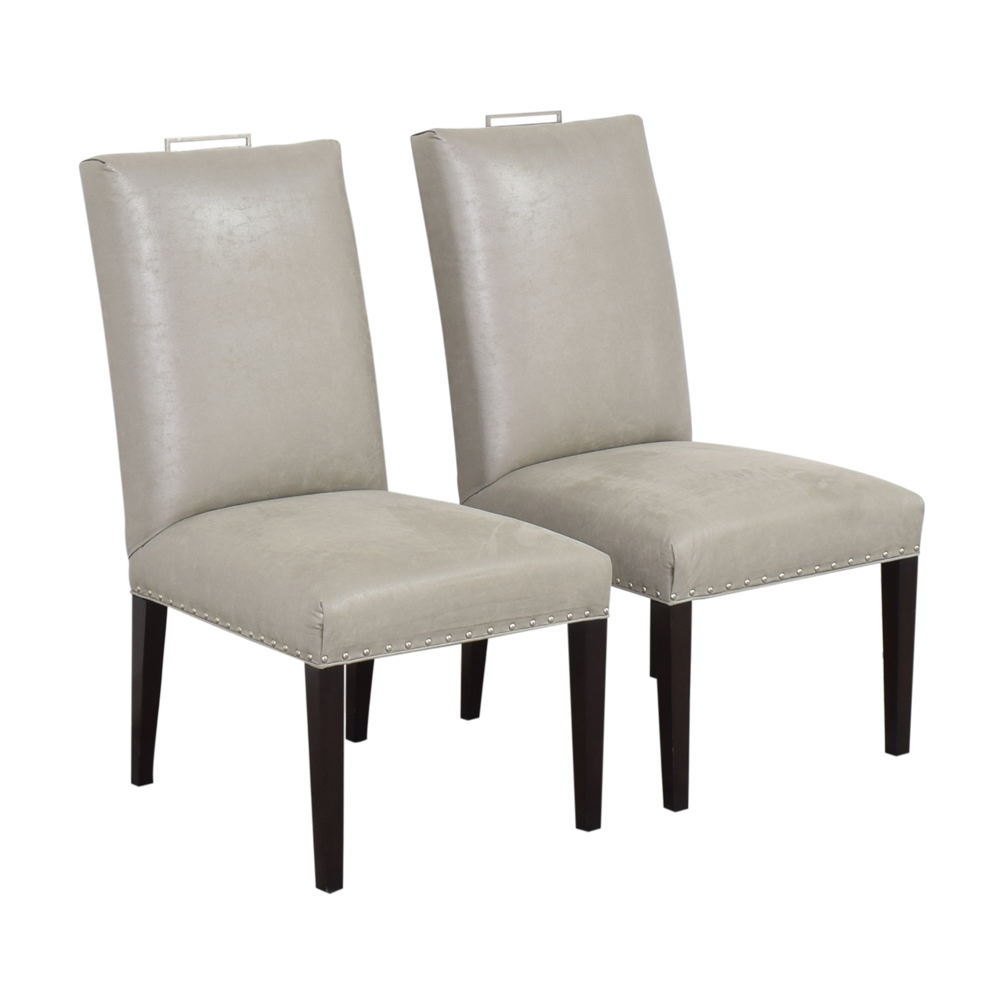 Vanguard Furniture Vanguard Michael Weiss Everhart Side Dining Chairs for sale
