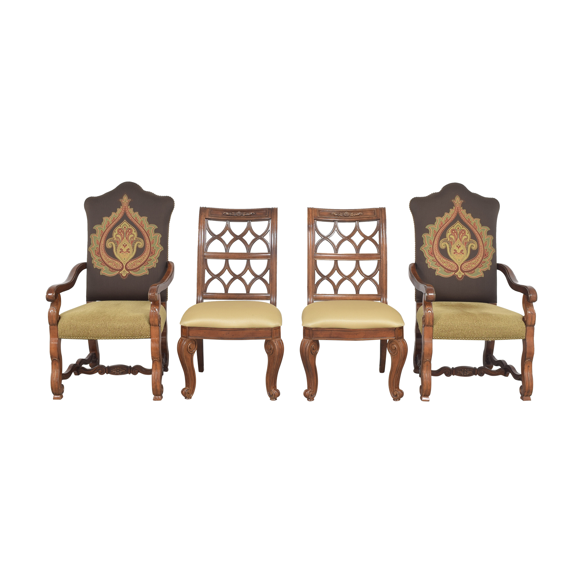 Schnadig Schnadig Upholstered Dining Chairs