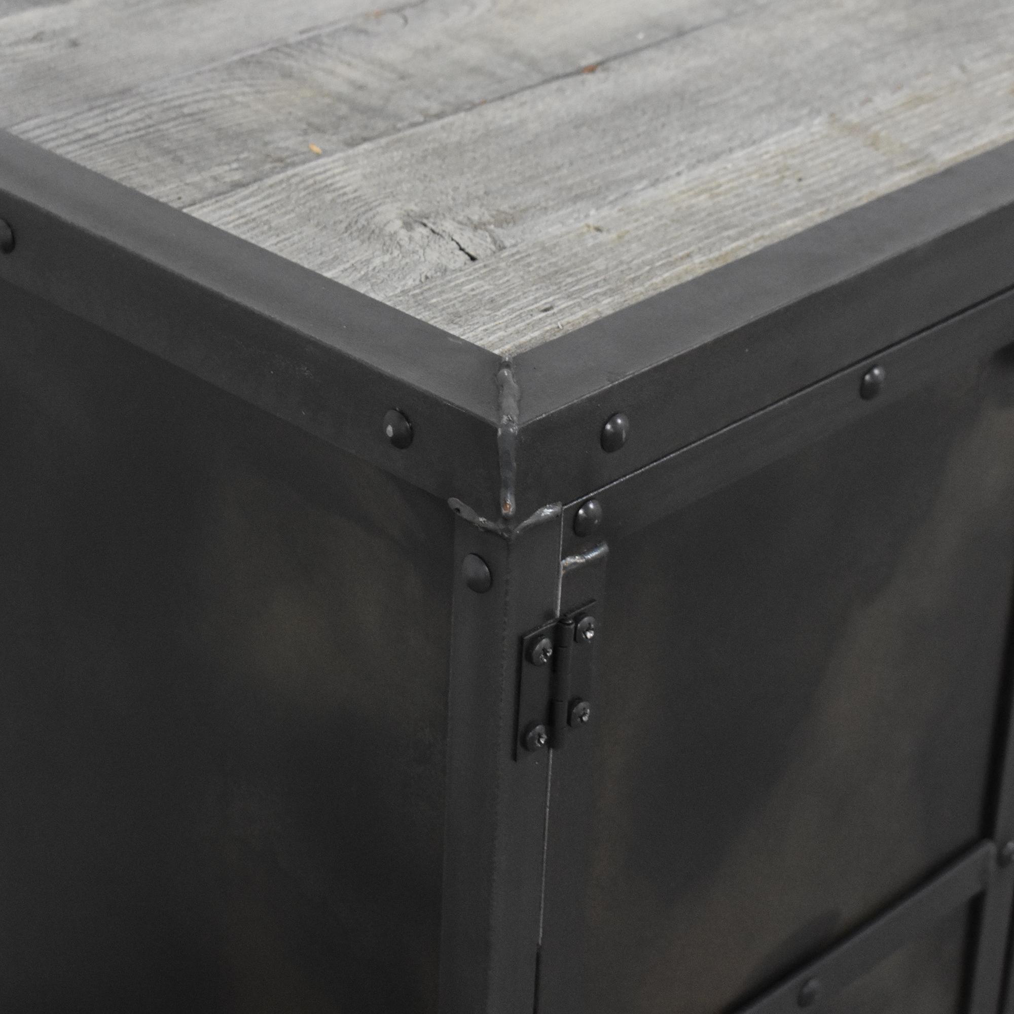 Combine 9 Combine 9 Industrial Desk with Side Cabinet Storage ct