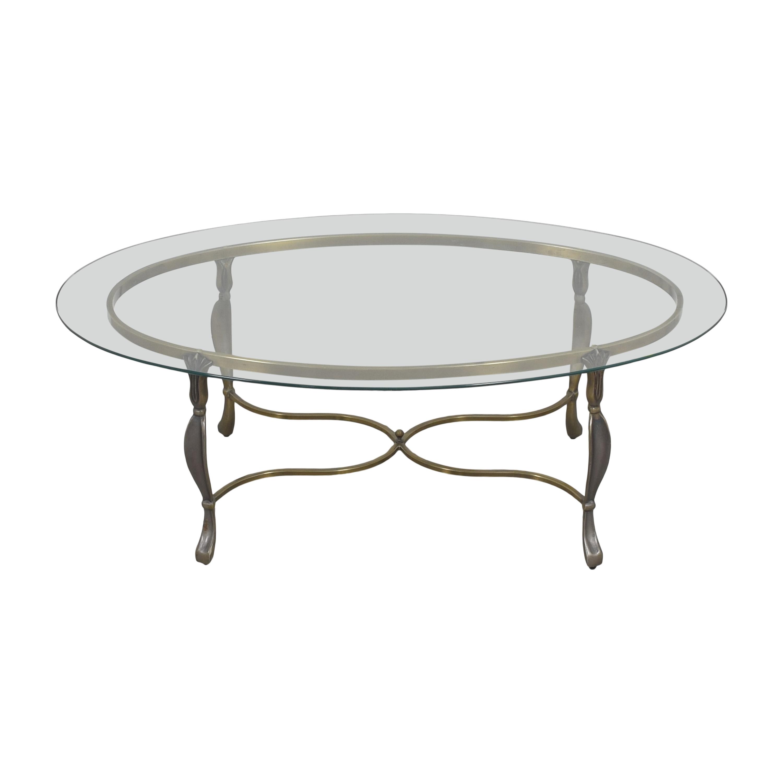 Oval Coffee Table nj
