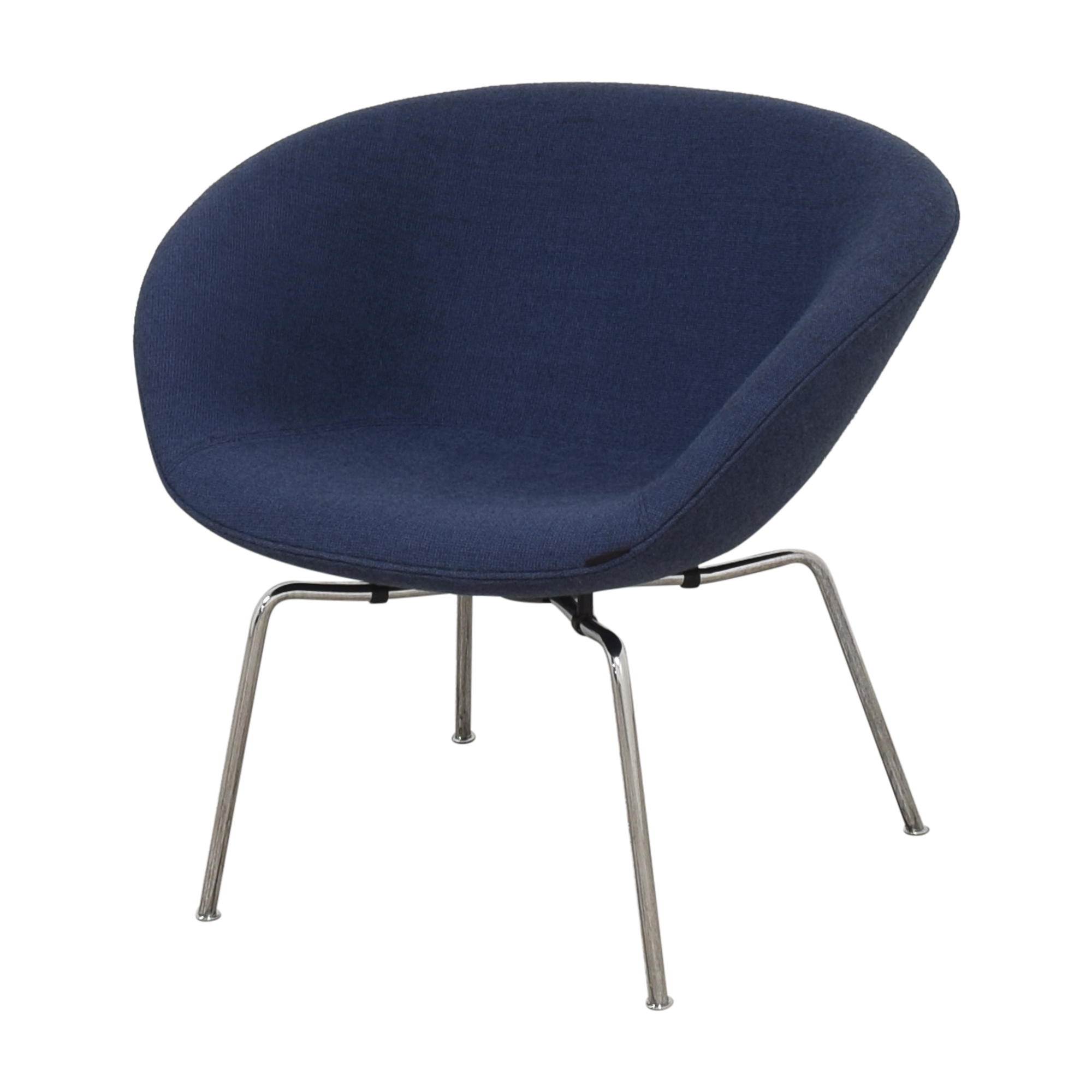 shop Fritz Hansen Pot Lounge Chair by Arne Jacobsen Fritz Hansen Accent Chairs