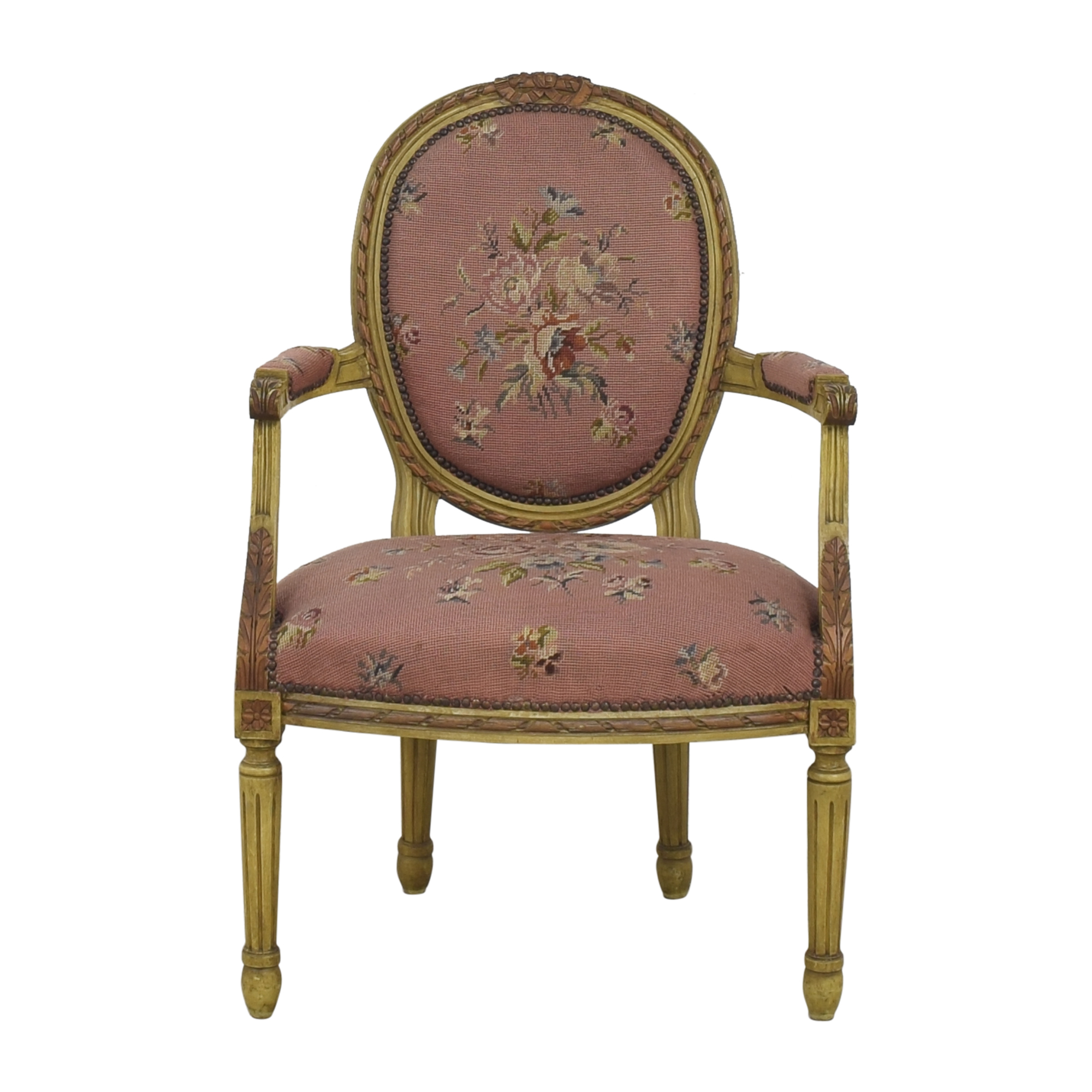 Floral Accent Chair ct