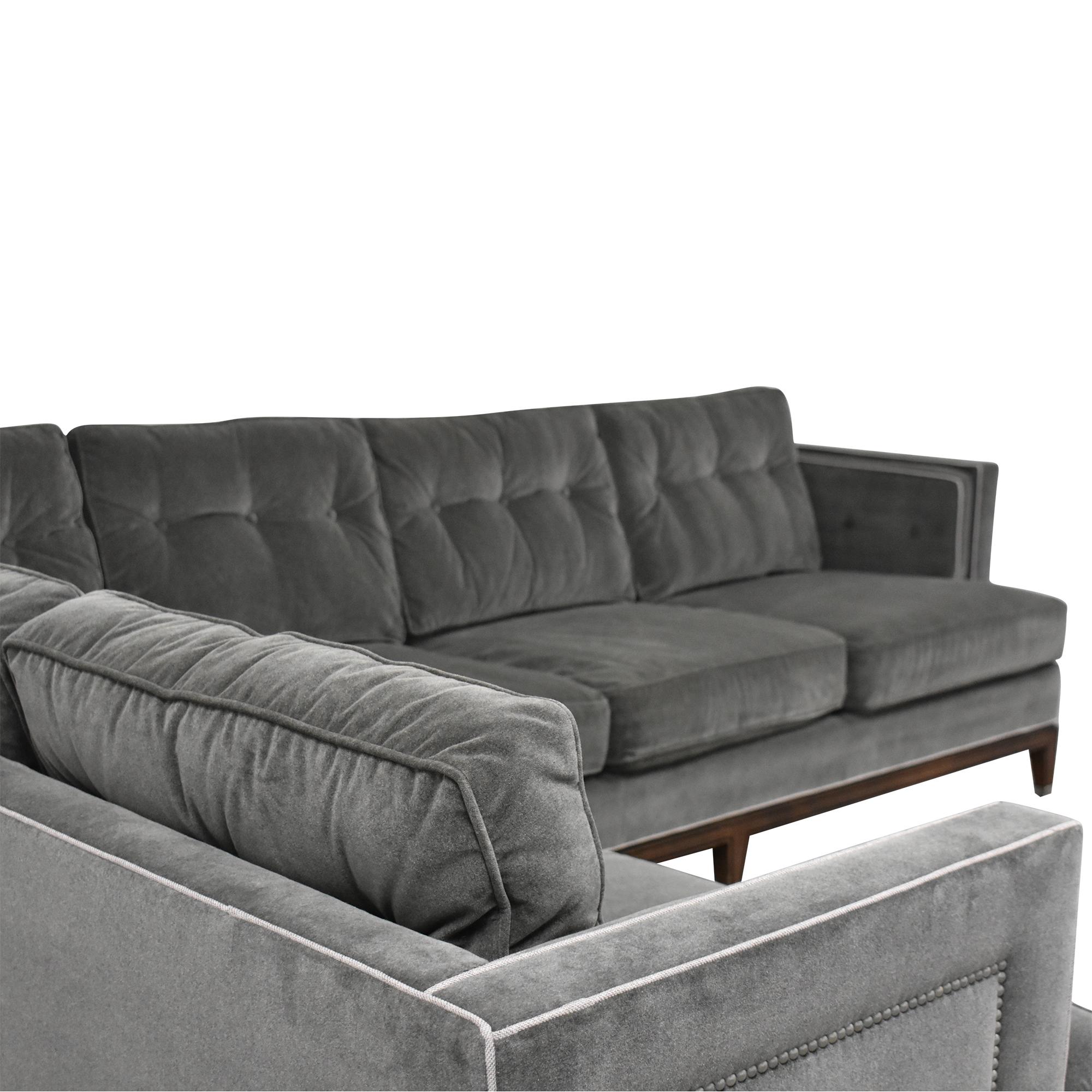 Vanguard Furniture Vanguard  Furniture Whitaker Sectional Sofa pa