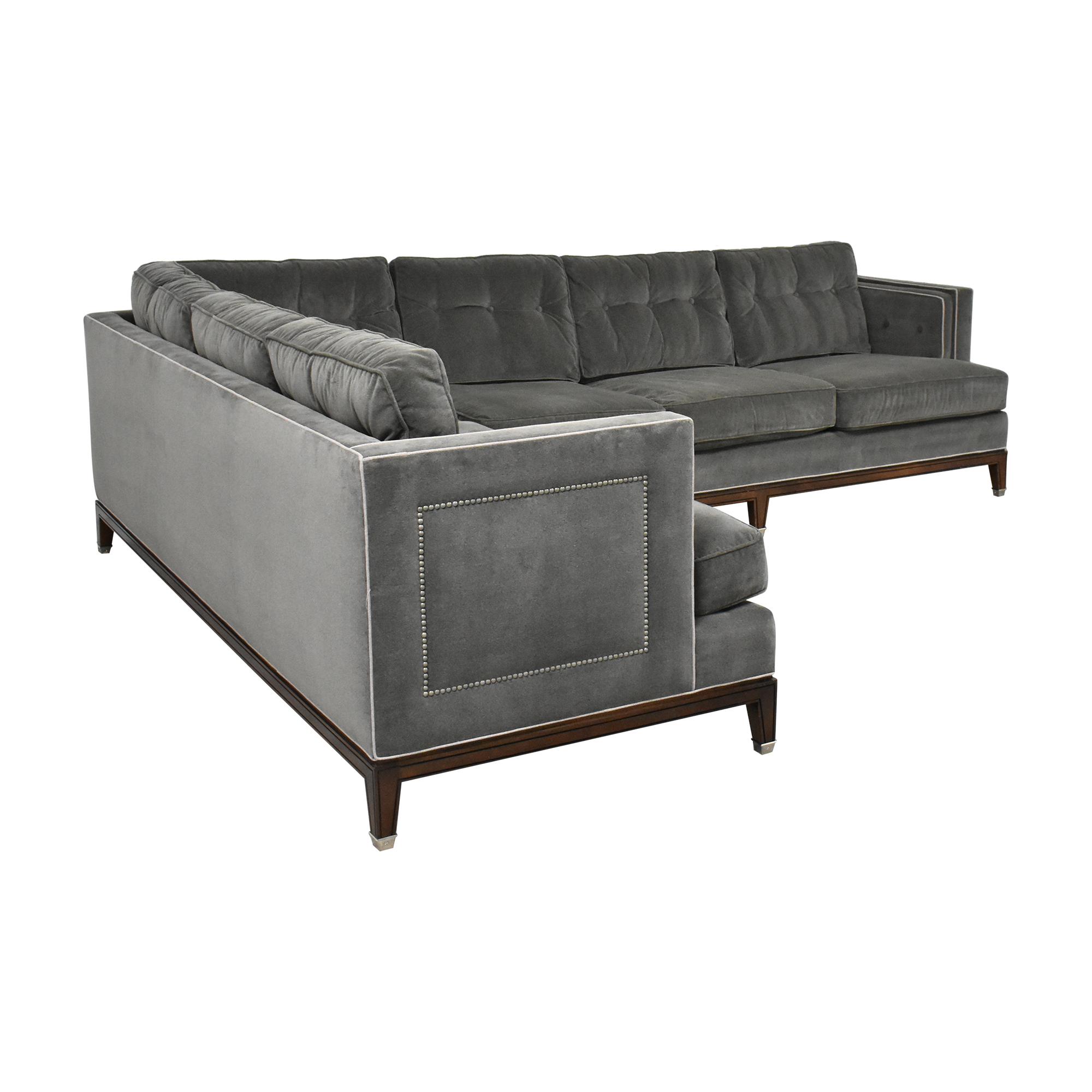 Vanguard Furniture Vanguard  Furniture Whitaker Sectional Sofa discount