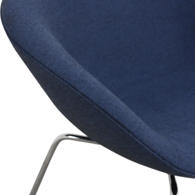 buy Fritz Hansen Pot Lounge Chair by Arne Jacobsen Fritz Hansen Chairs