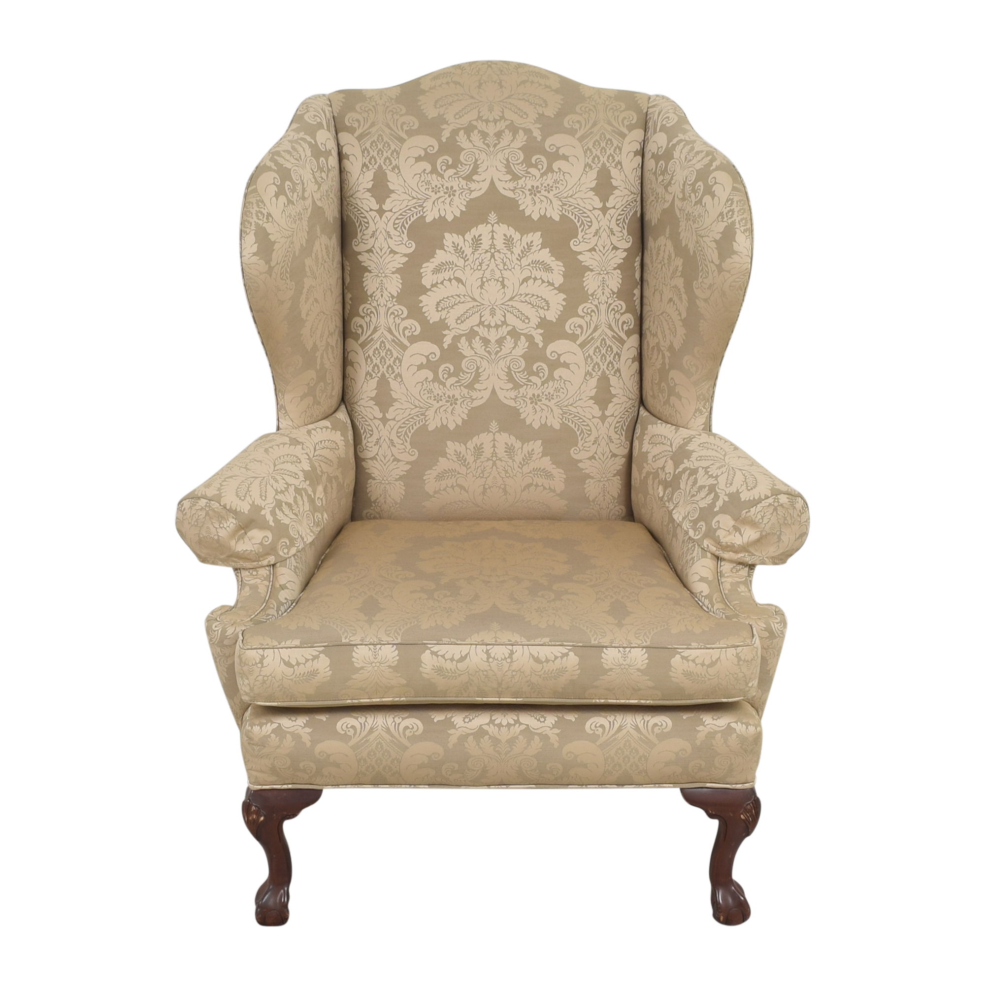 Ethan Allen Ethan Allen Wing Accent Chair dimensions
