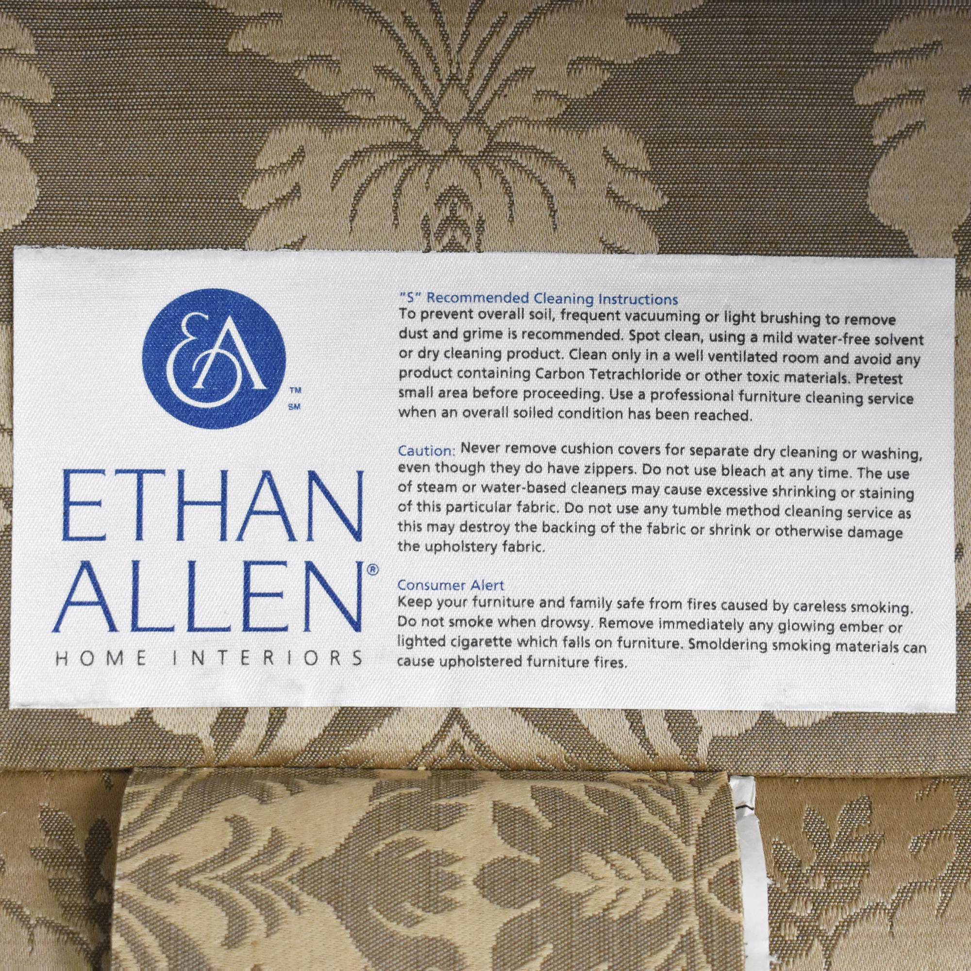 Ethan Allen Wing Accent Chair sale