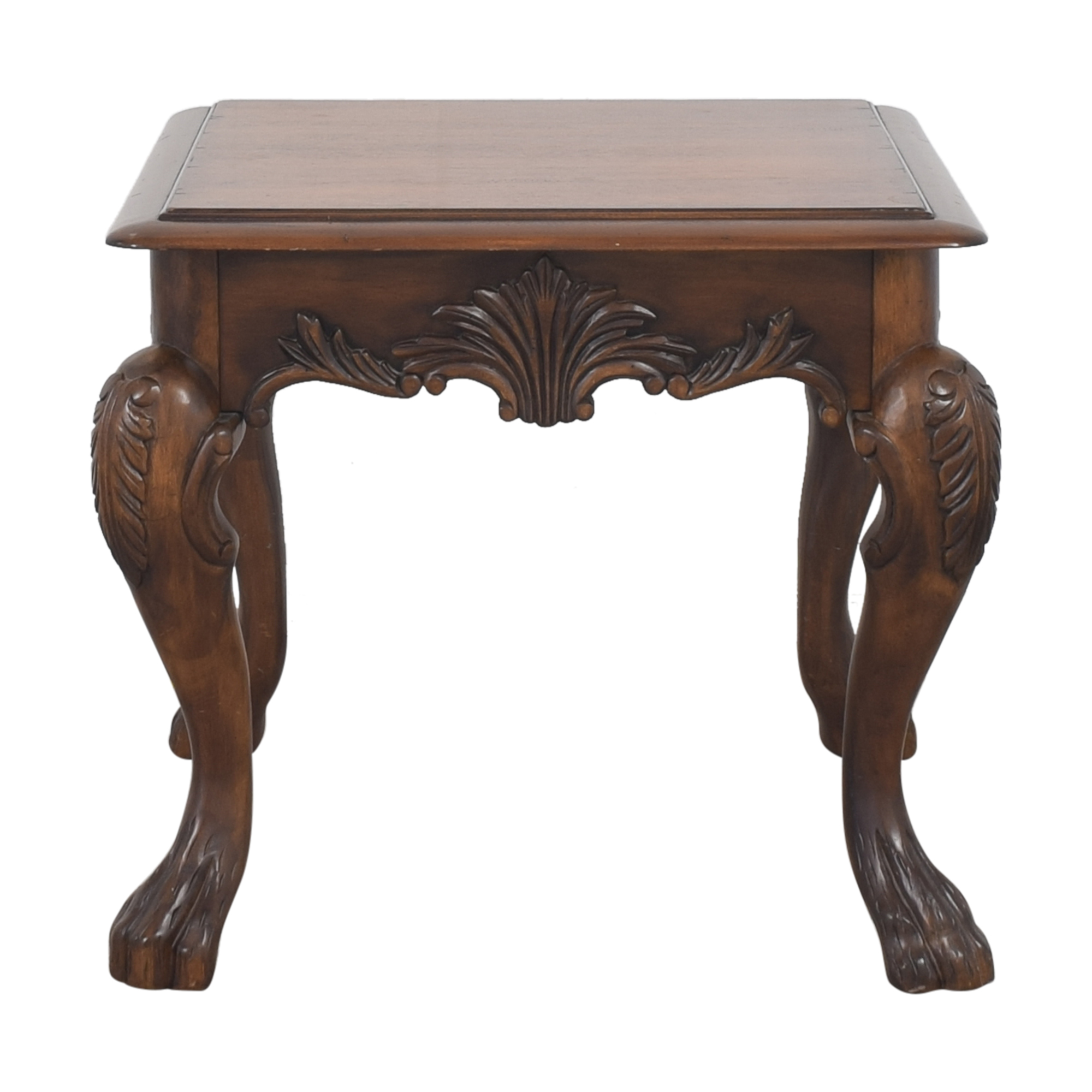 shop Ethan Allen Cabriole End Table Ethan Allen