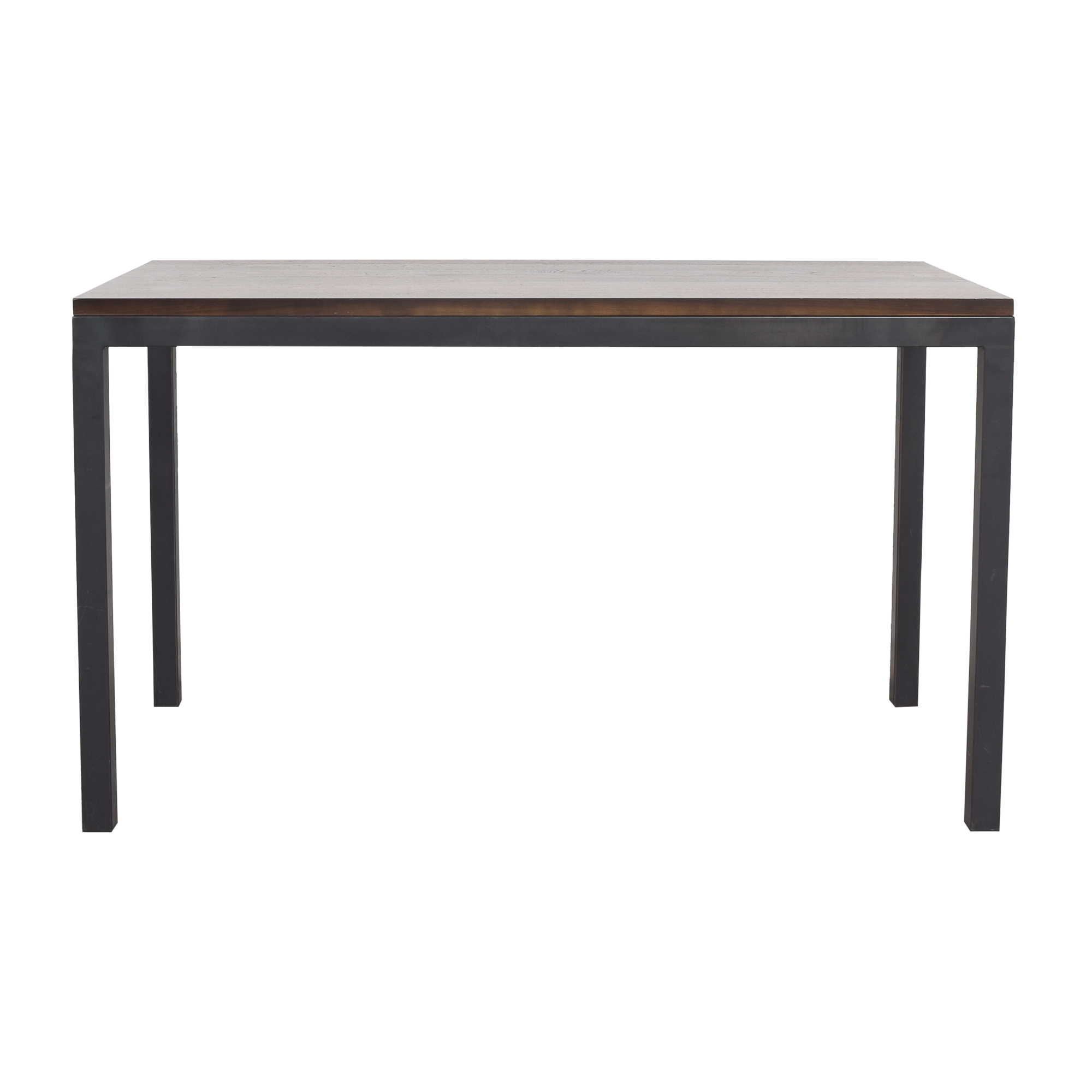 Room & Board Room & Board Parsons Counter Table brown & black