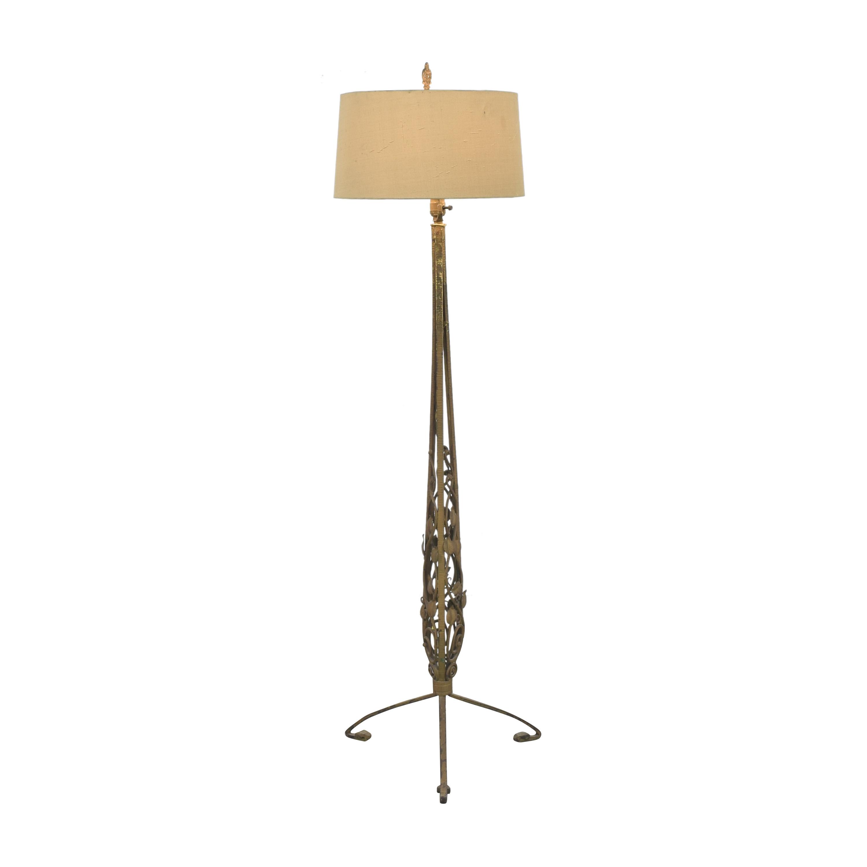 Antique Art Deco Floor Lamp ma