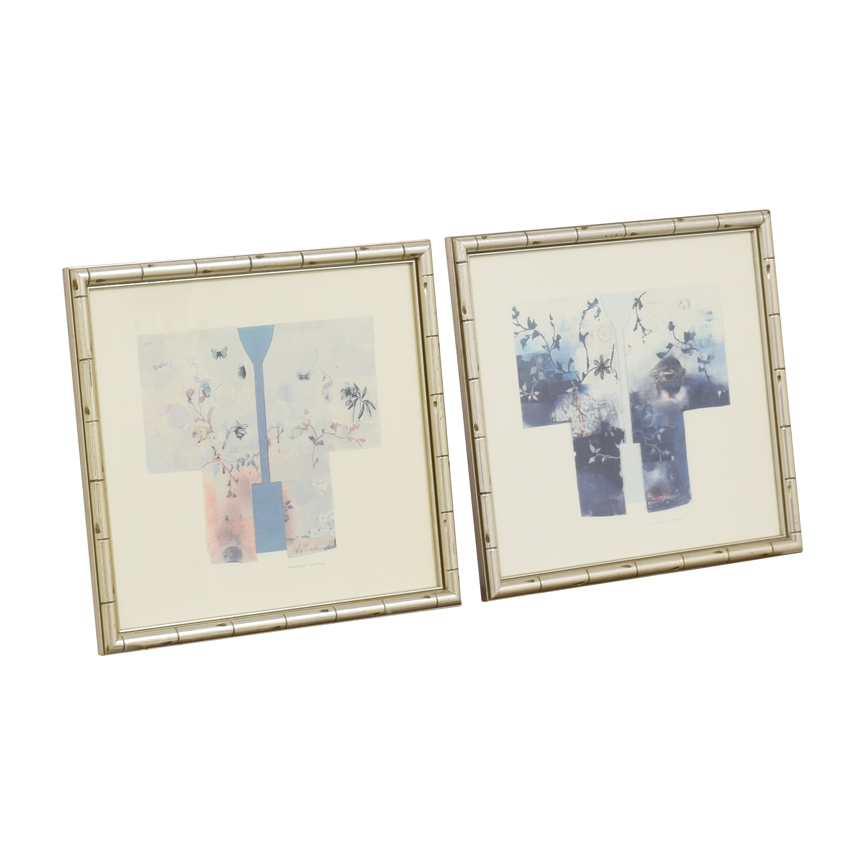Framed Matsuoka Kimonos Wall Art second hand