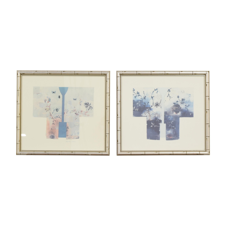 Framed Matsuoka Kimonos Wall Art nyc